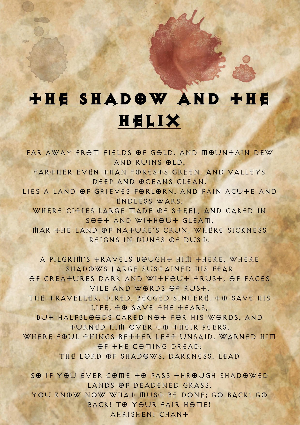 the shadow and the helix