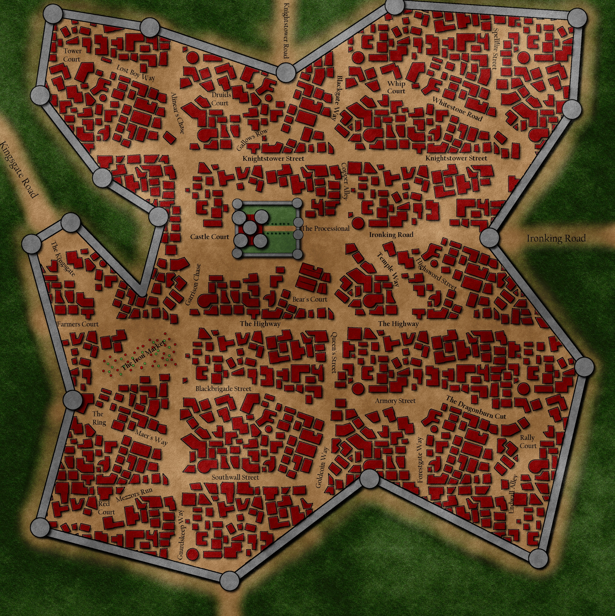 Ironwrought: The capital city of the Iron Kingdom