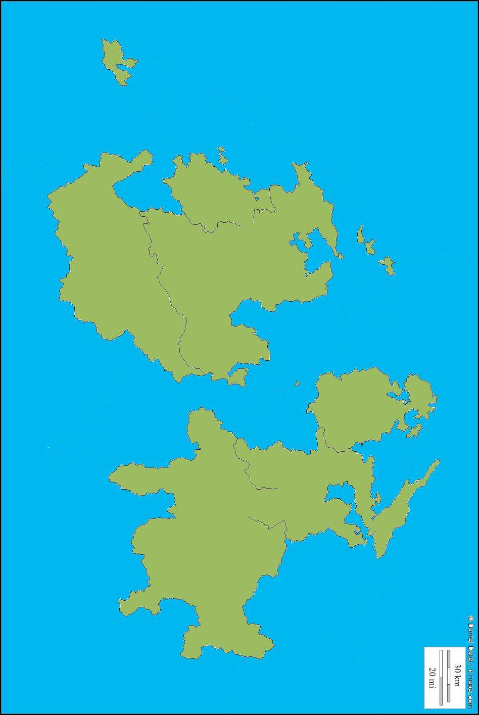 Switz Islands 4: From http://d-maps.com/ this is modified areas of Switzerland. I think it could be 2 large continents, or smaller islands. FREE for anyone who wants to use it. I'd love to see what you do with it.