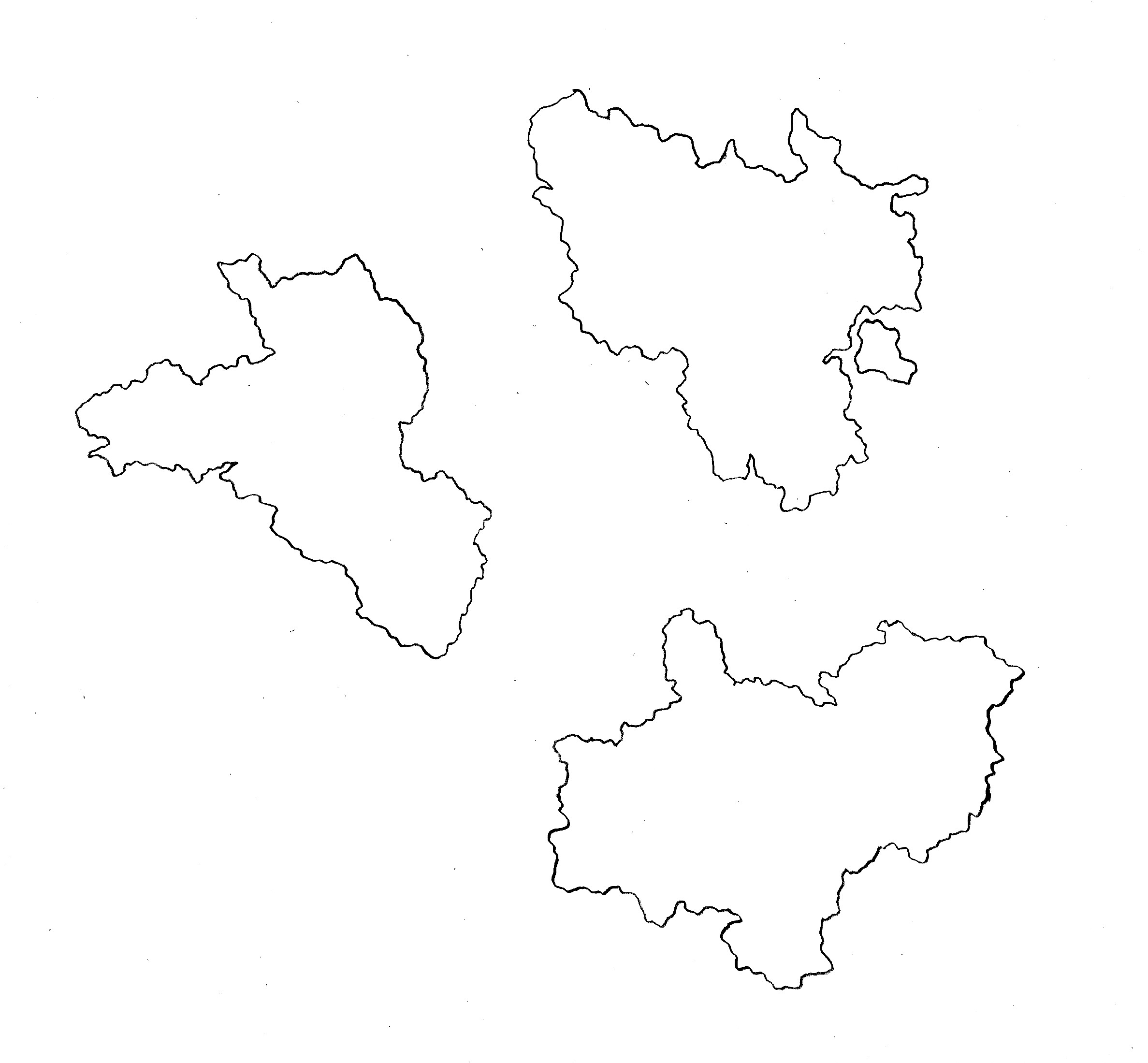 France map 2: This is an adjustment of the earlier France islands 1. I much prefer this one. It's up for grabs is anyone wants to do more to it.