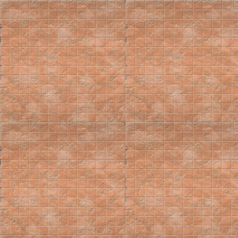 2k by 2k Battle Grid Rose Cracked Tiles