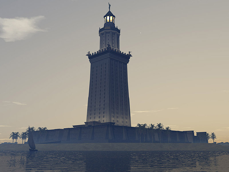 Great Lighthouse Of Alexandria800x600