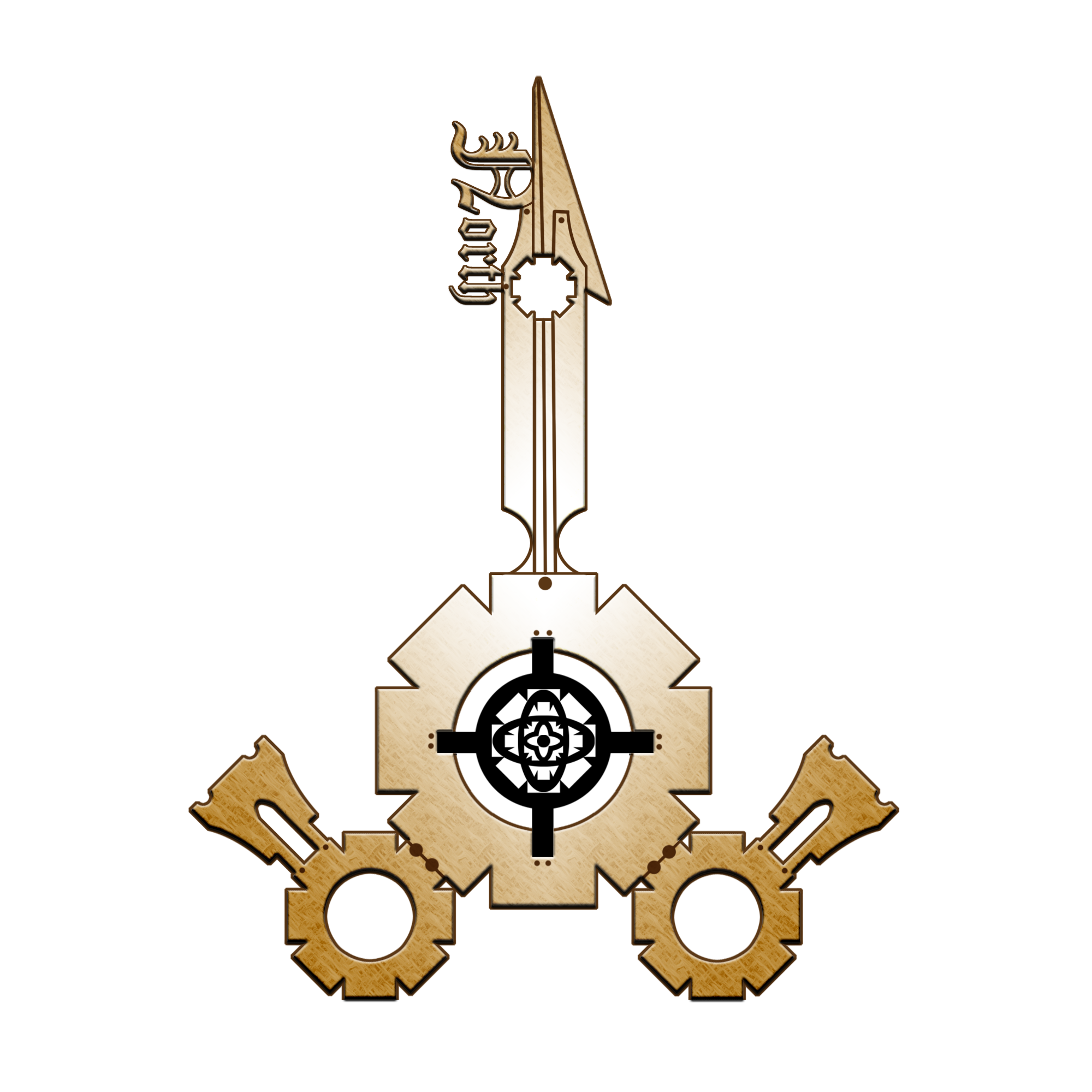 Compass rose : steampunk