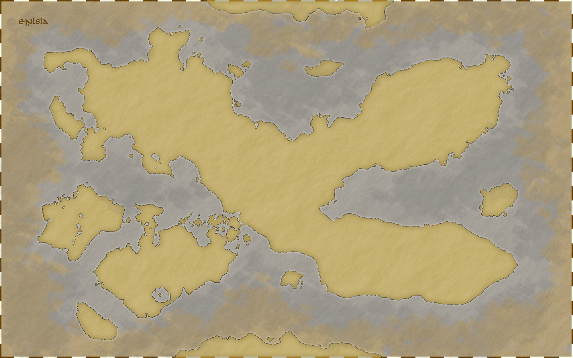 Enisia - World Map v1.0