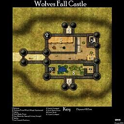 Wolves Fall Castle