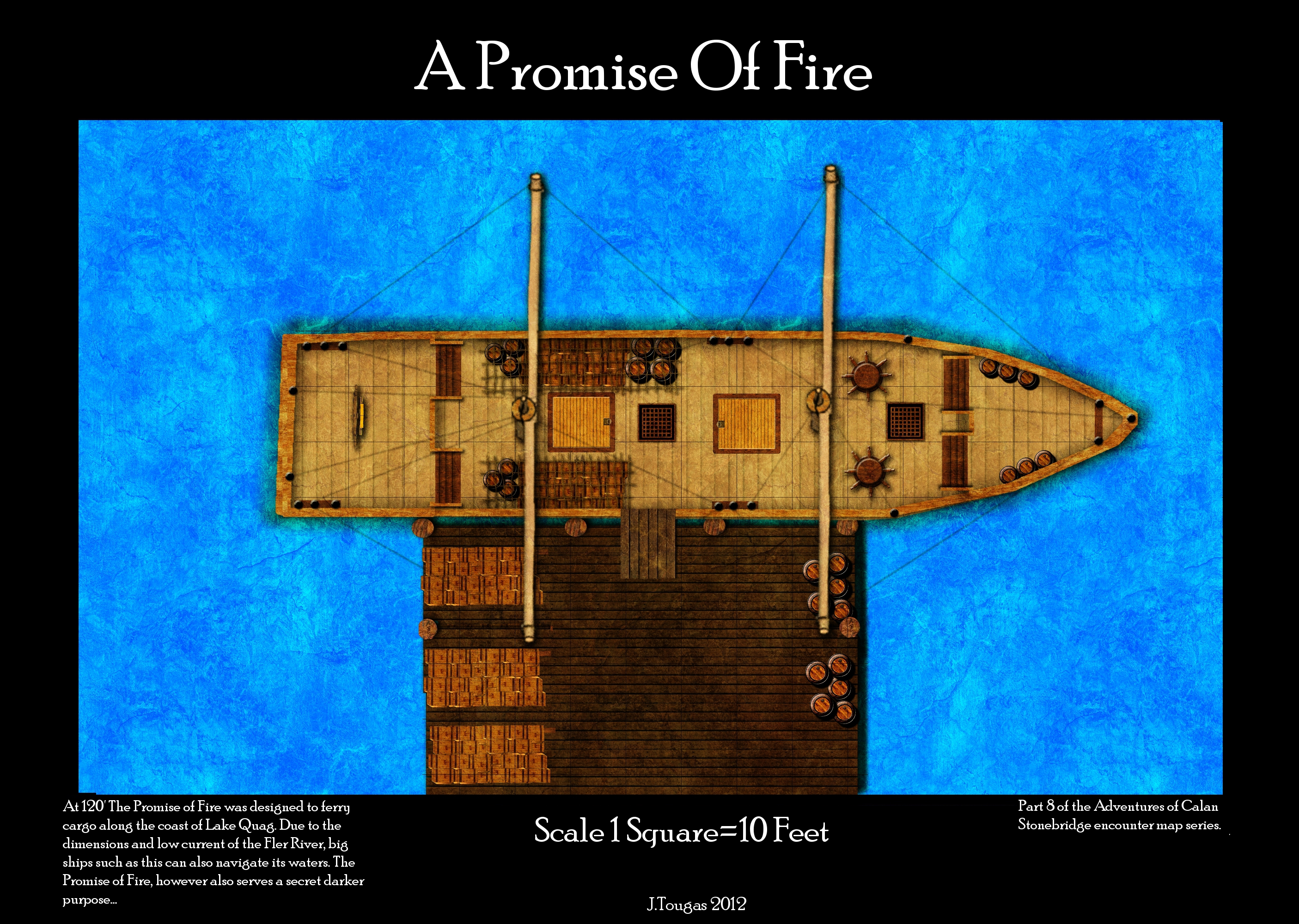 The Promise of Fire smuggling ship
