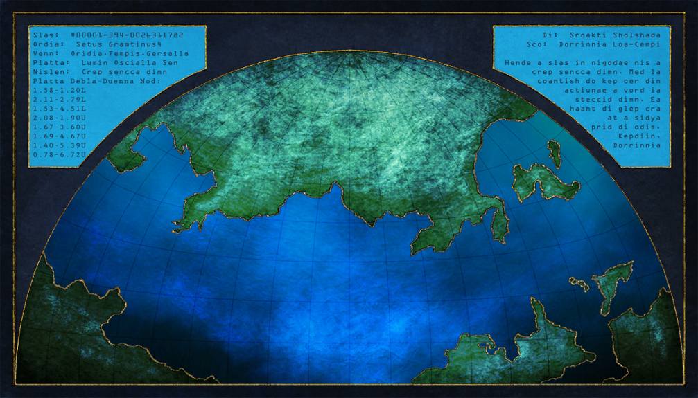Lumin Ocean regional map - all rights reserved.