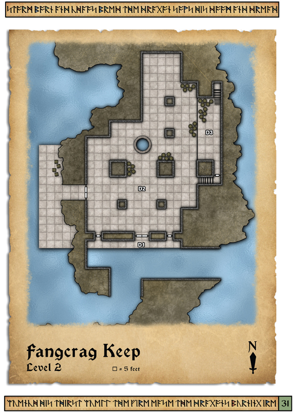 Fangcrag Keep Level 2