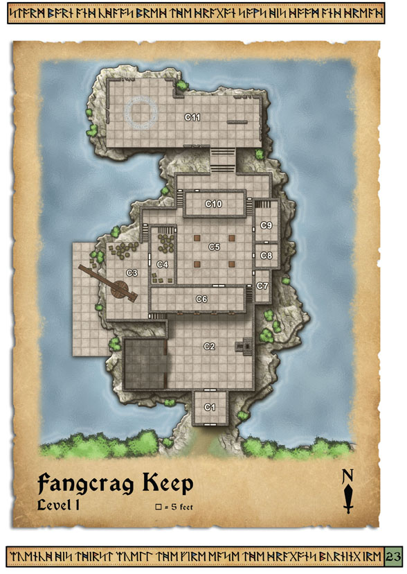 Fangcrag Keep Level 1