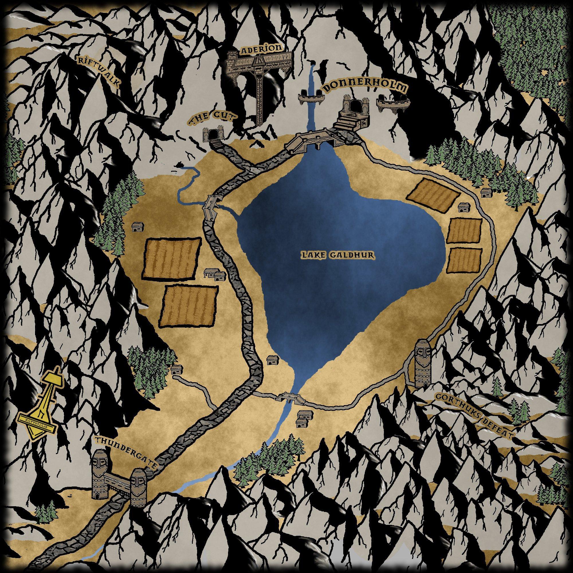 Tal Donnerholm Map 1