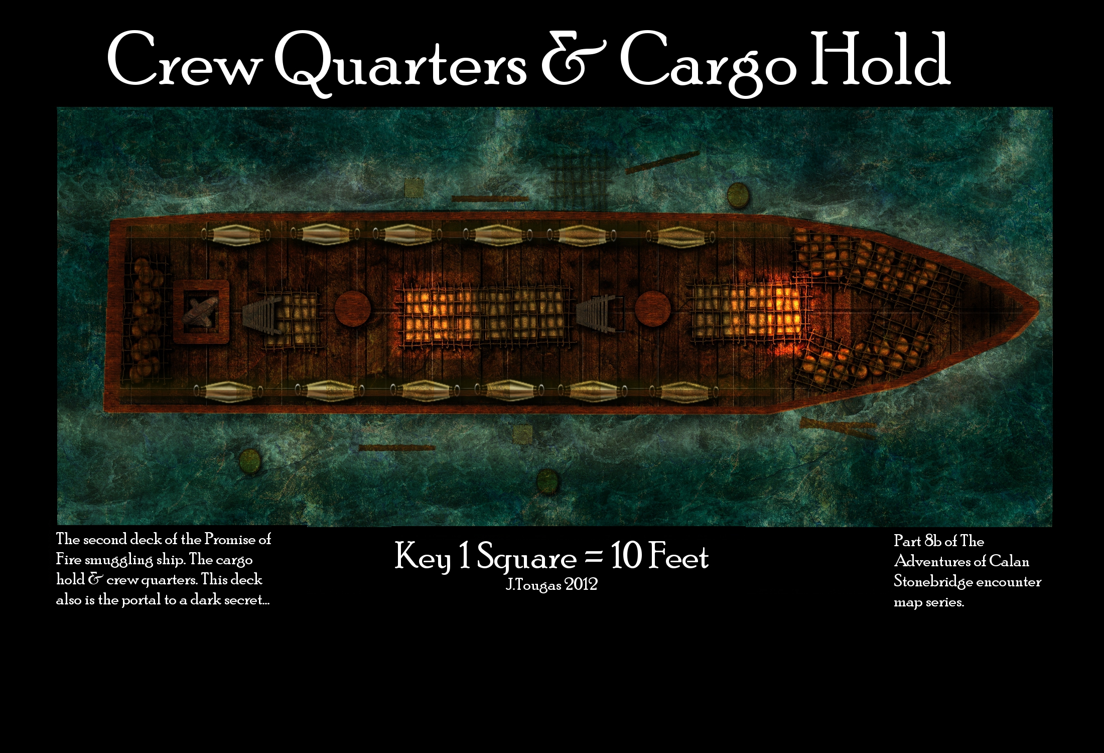 Crew quarters and cargo hold