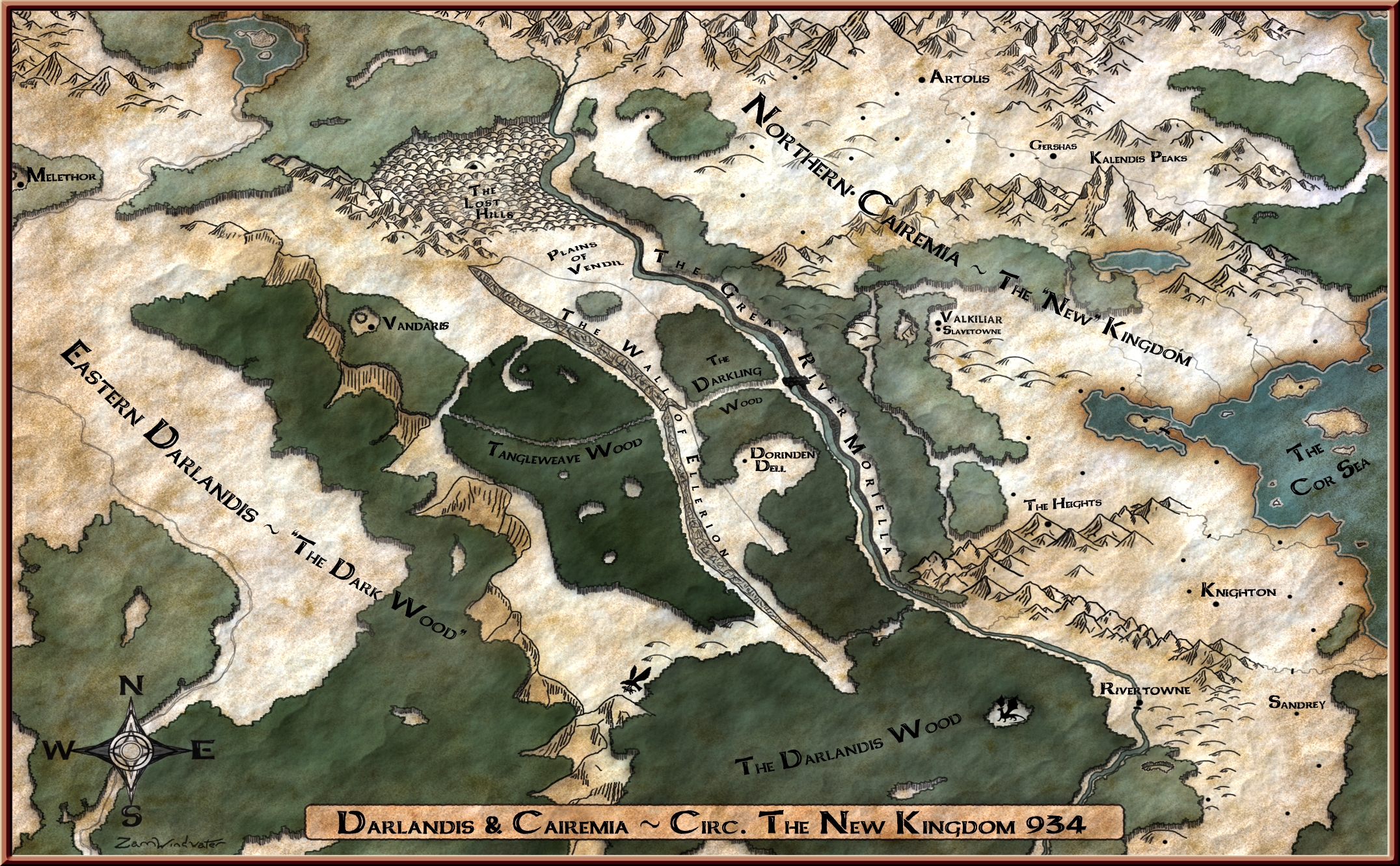 Map finished Wider Color