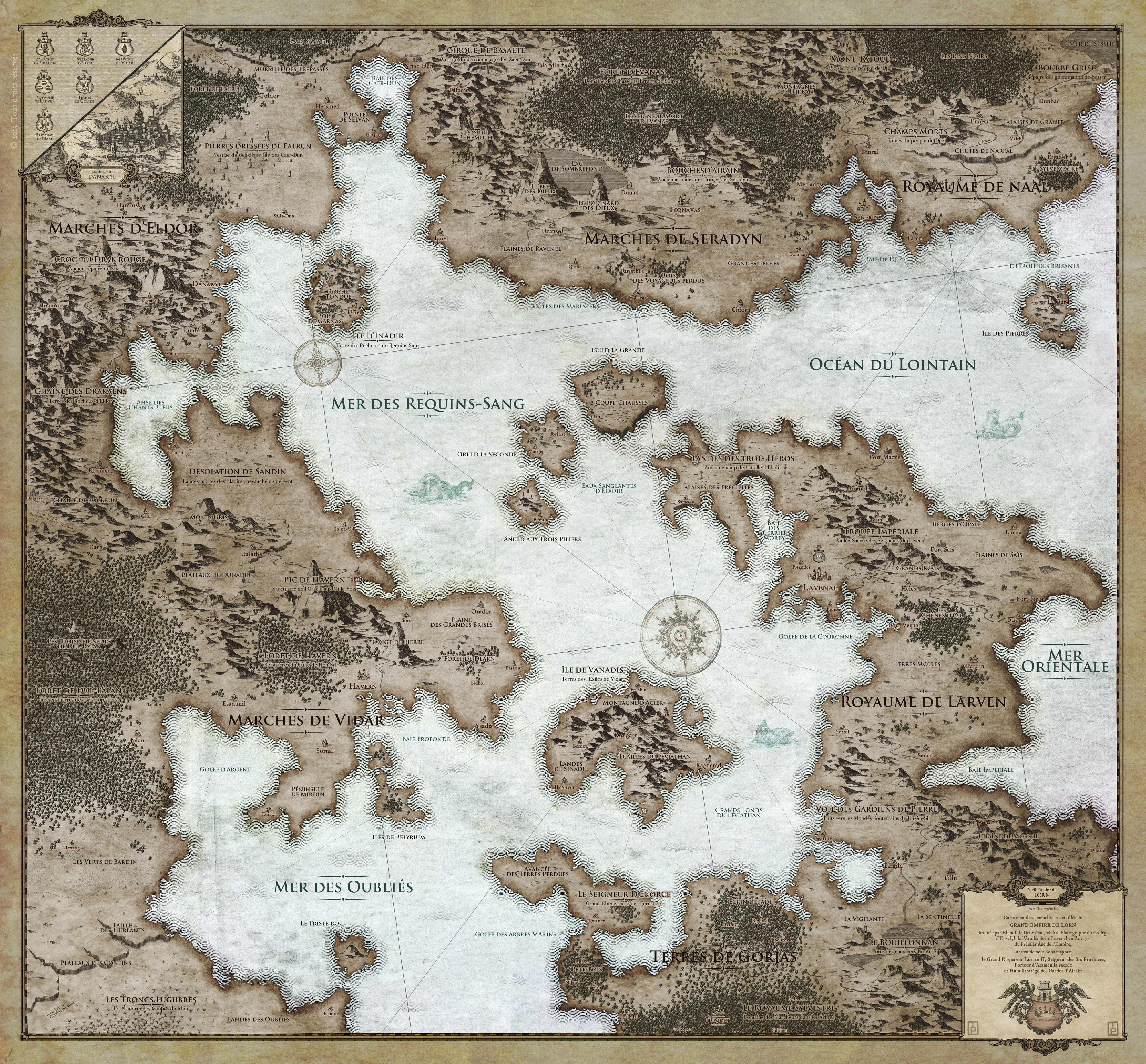 Old Empire of Lorn - personnal project - 3rd place at 2013 Storyslinger mapmaking contest.