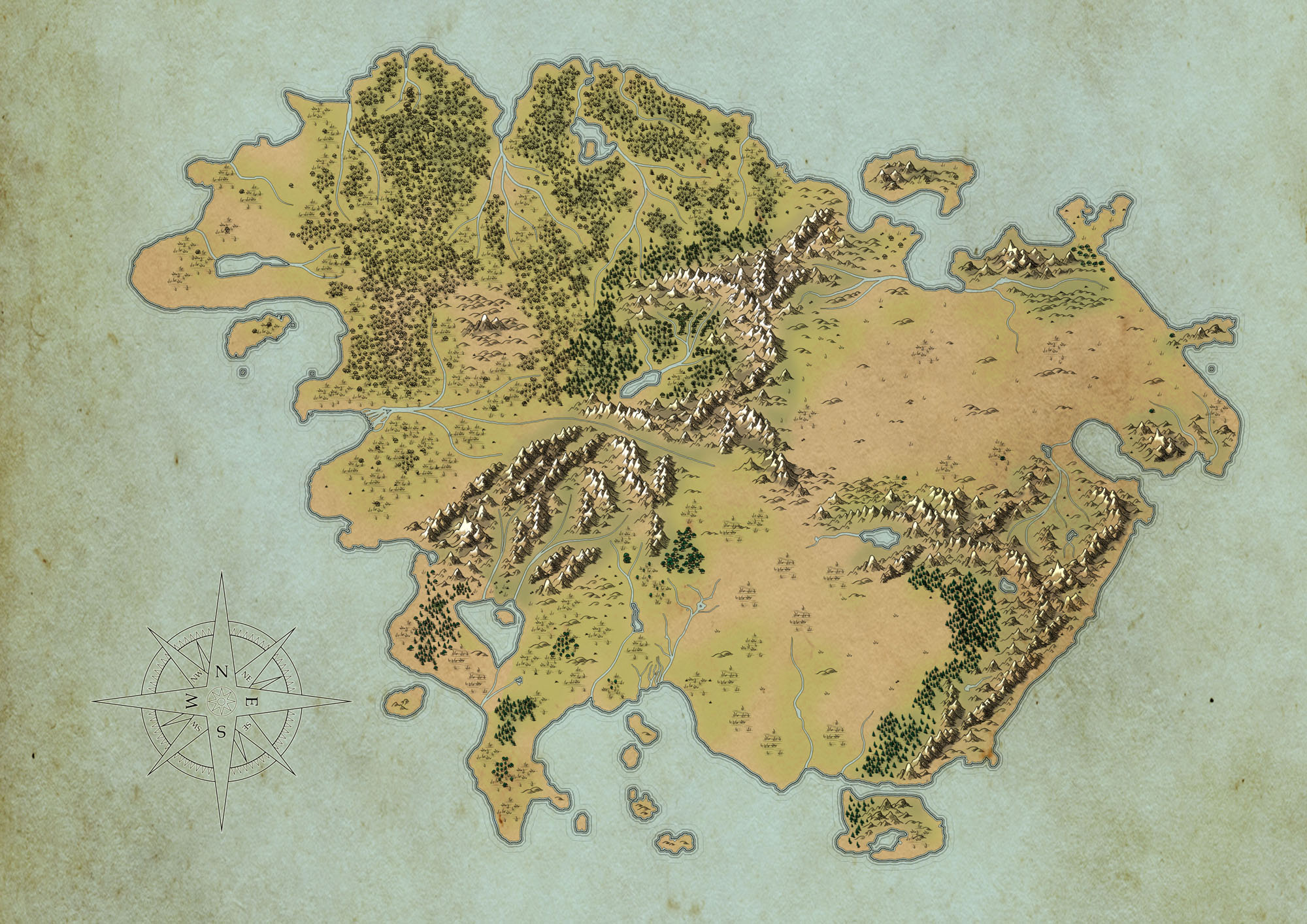 Map to the Original KOTRP world 52099d1360592560-fantasy-world-continent-map-feedback-crits-map_001_wip