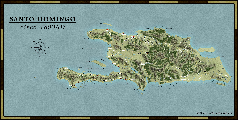 Santo Domingo, 1800