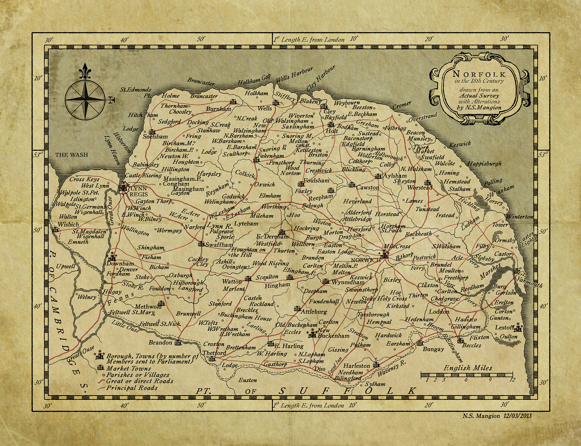 18th century Norfolk