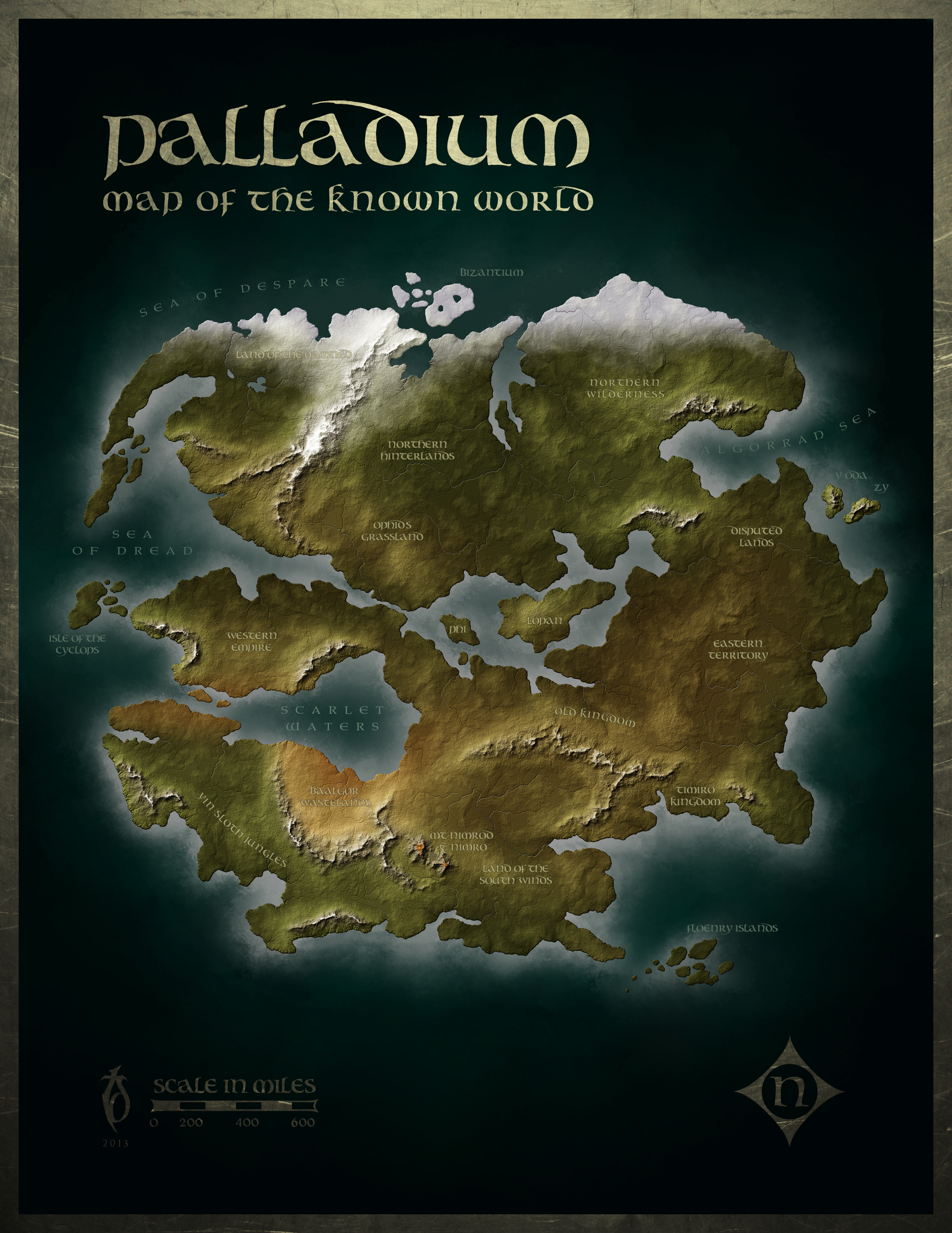 Palladium Display Small