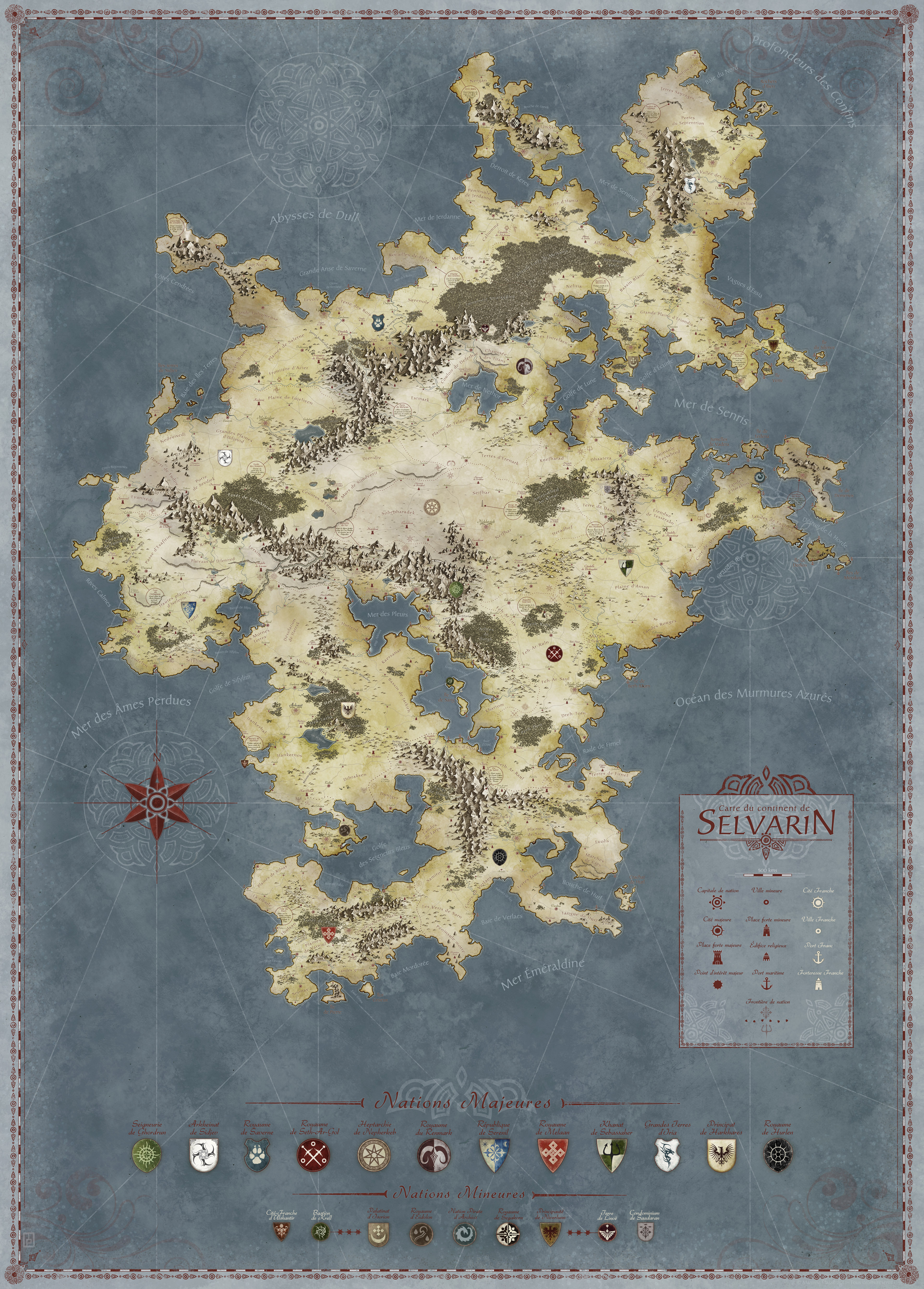 Selvarin - personnal project - Featured map April 2013 - 