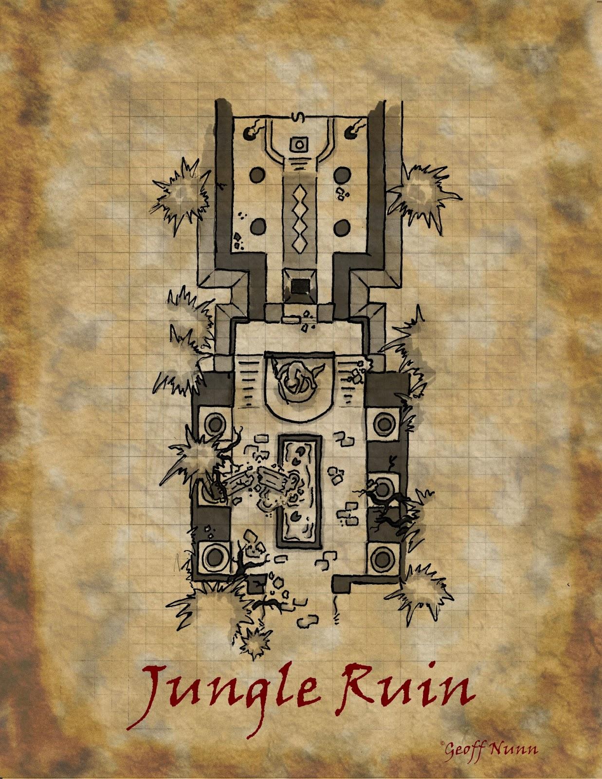 jungle+ruin