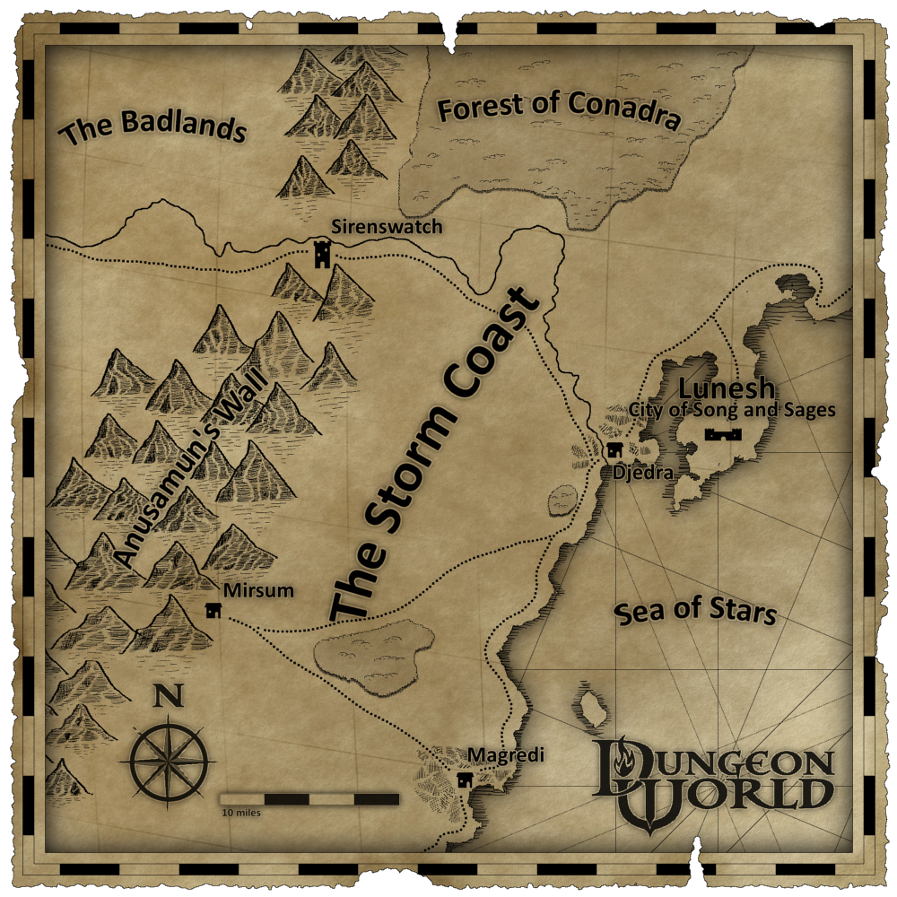 20130504 Dungeon World Map