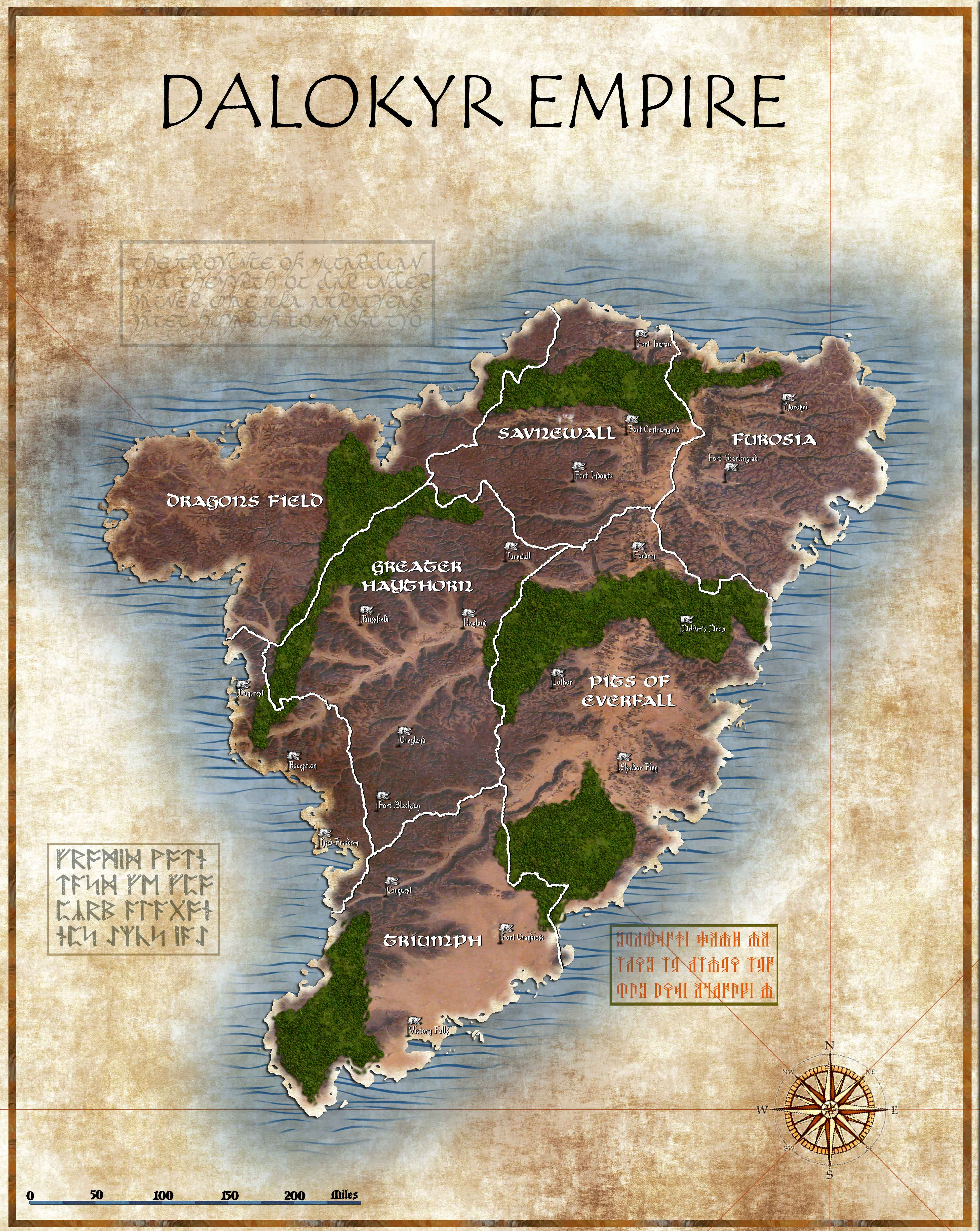 MAP REQUESTEmpireDraft