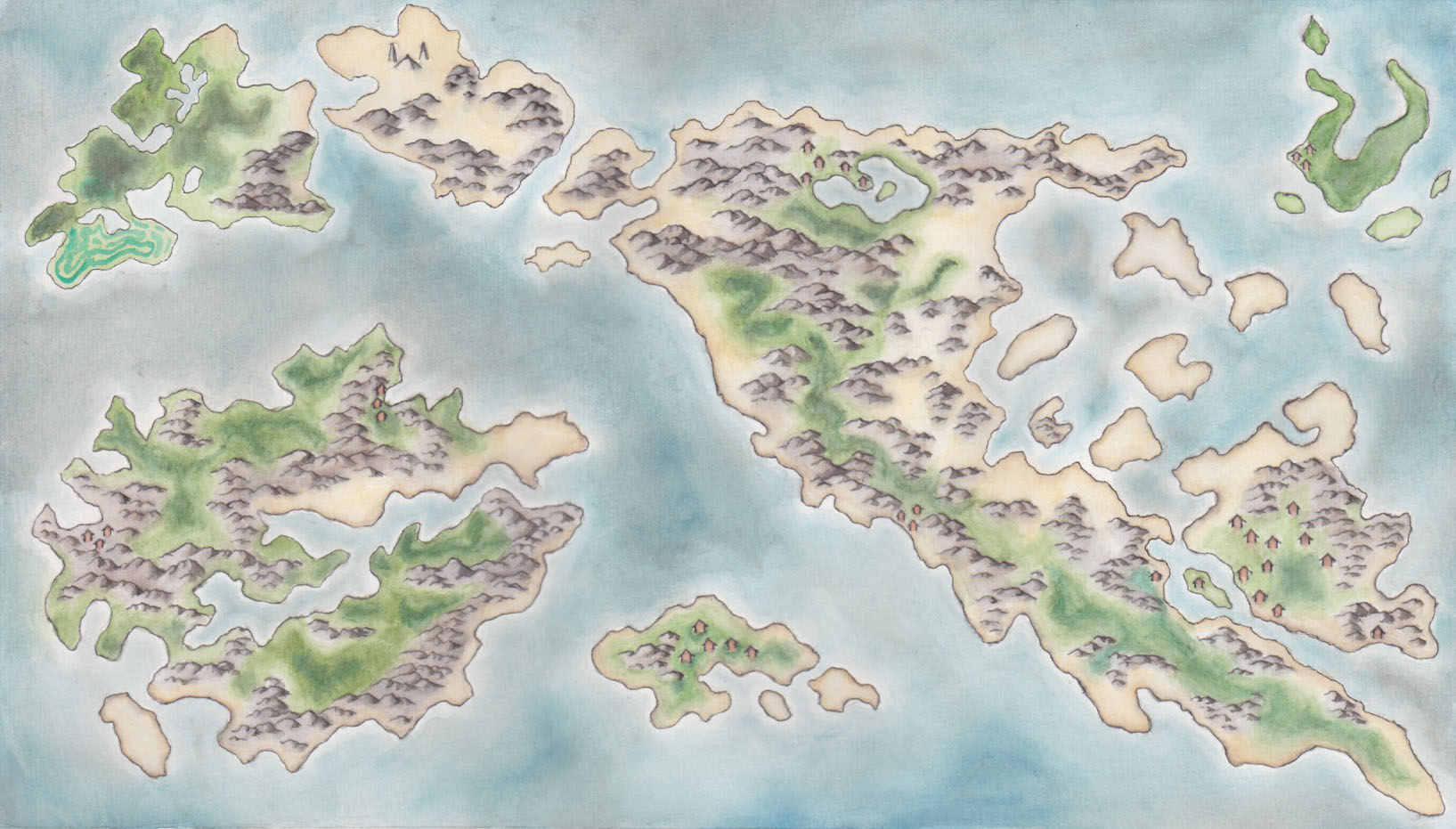 Commissioned map for UO Roleplay.