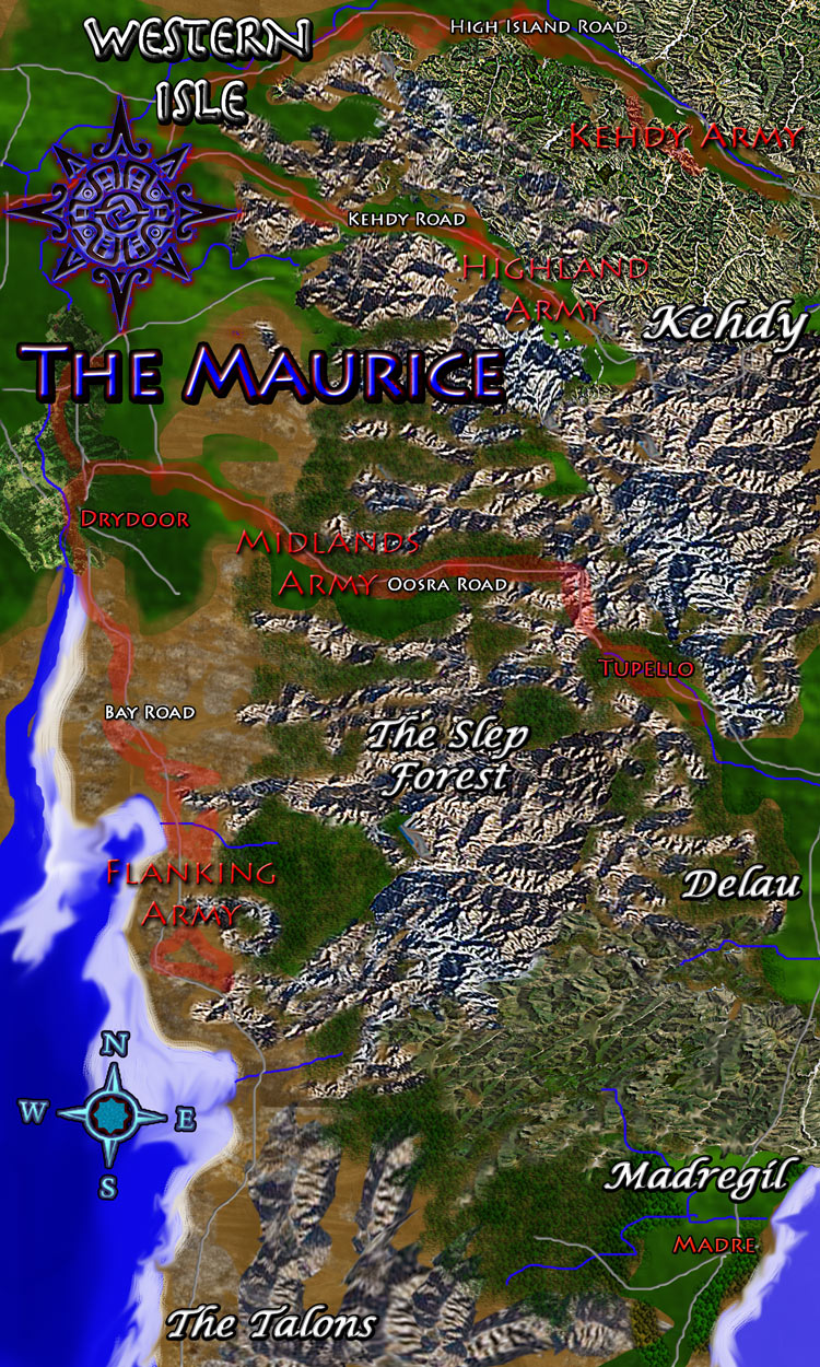 Land map - Fantasy