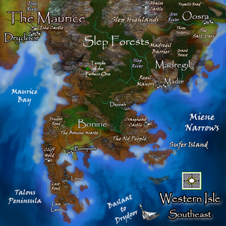 Tales of Chance the Mage - Western Isle -  southeast