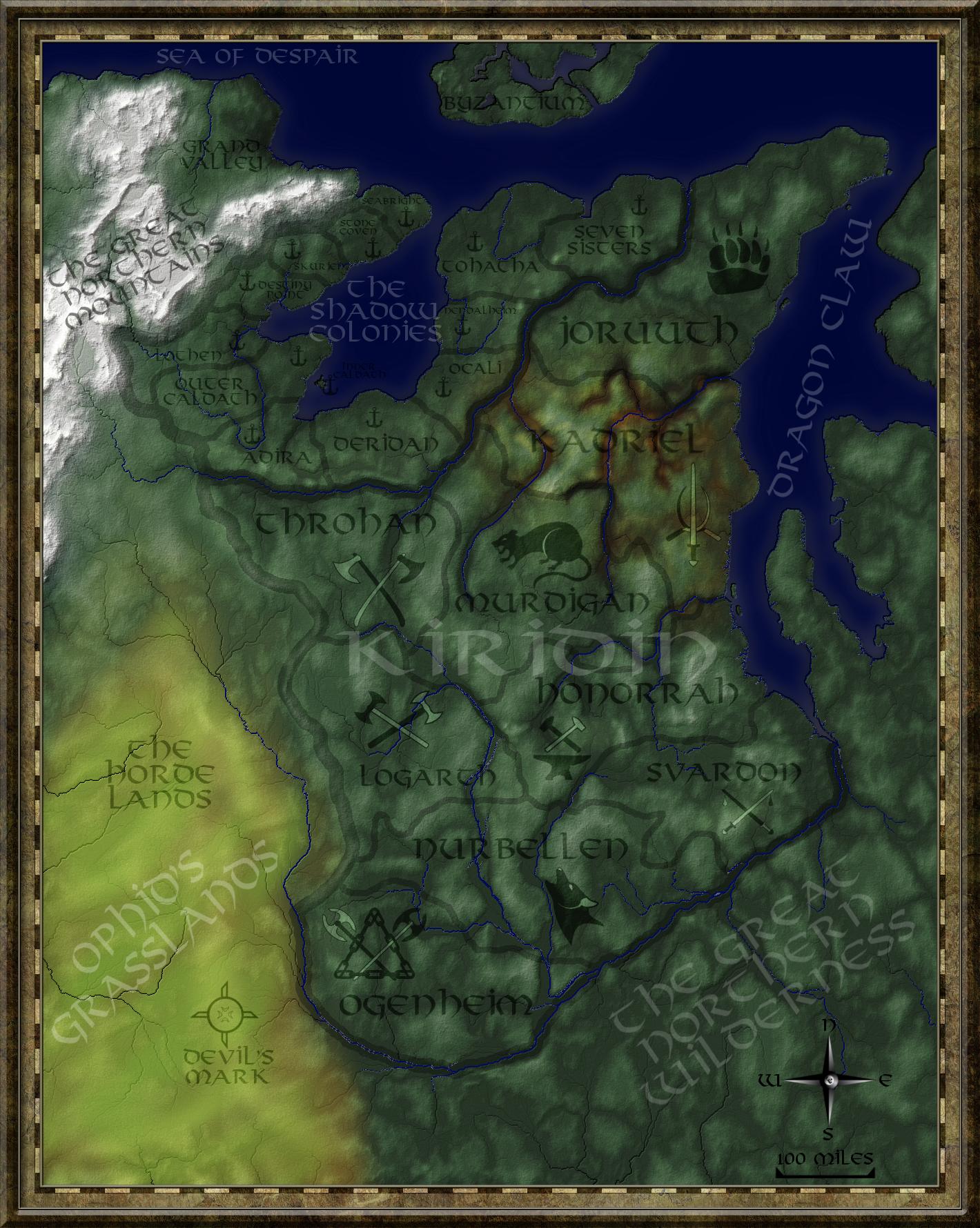 Kiridin Lands Complete