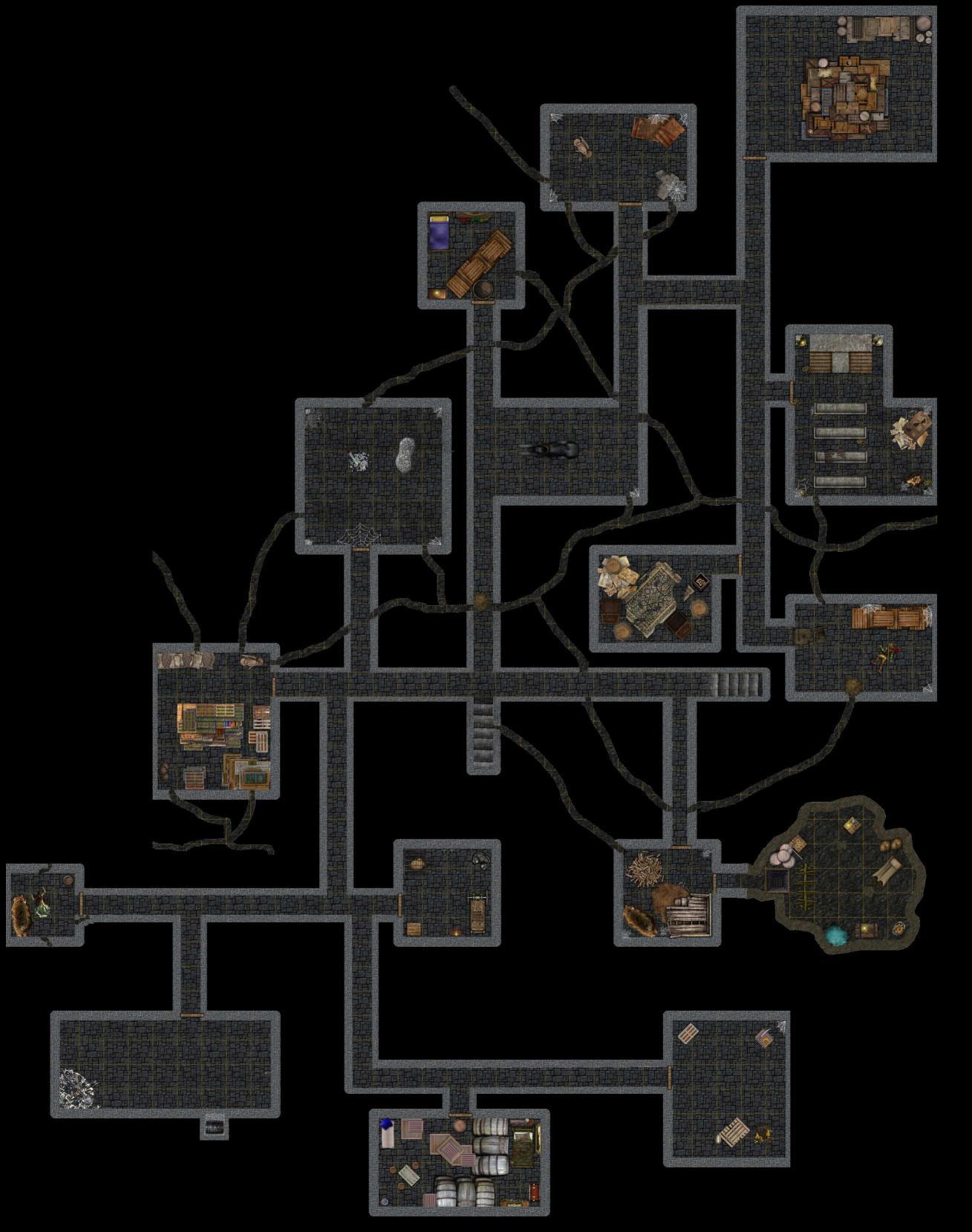 Hell Bridge Temple, Dungeon Level 2