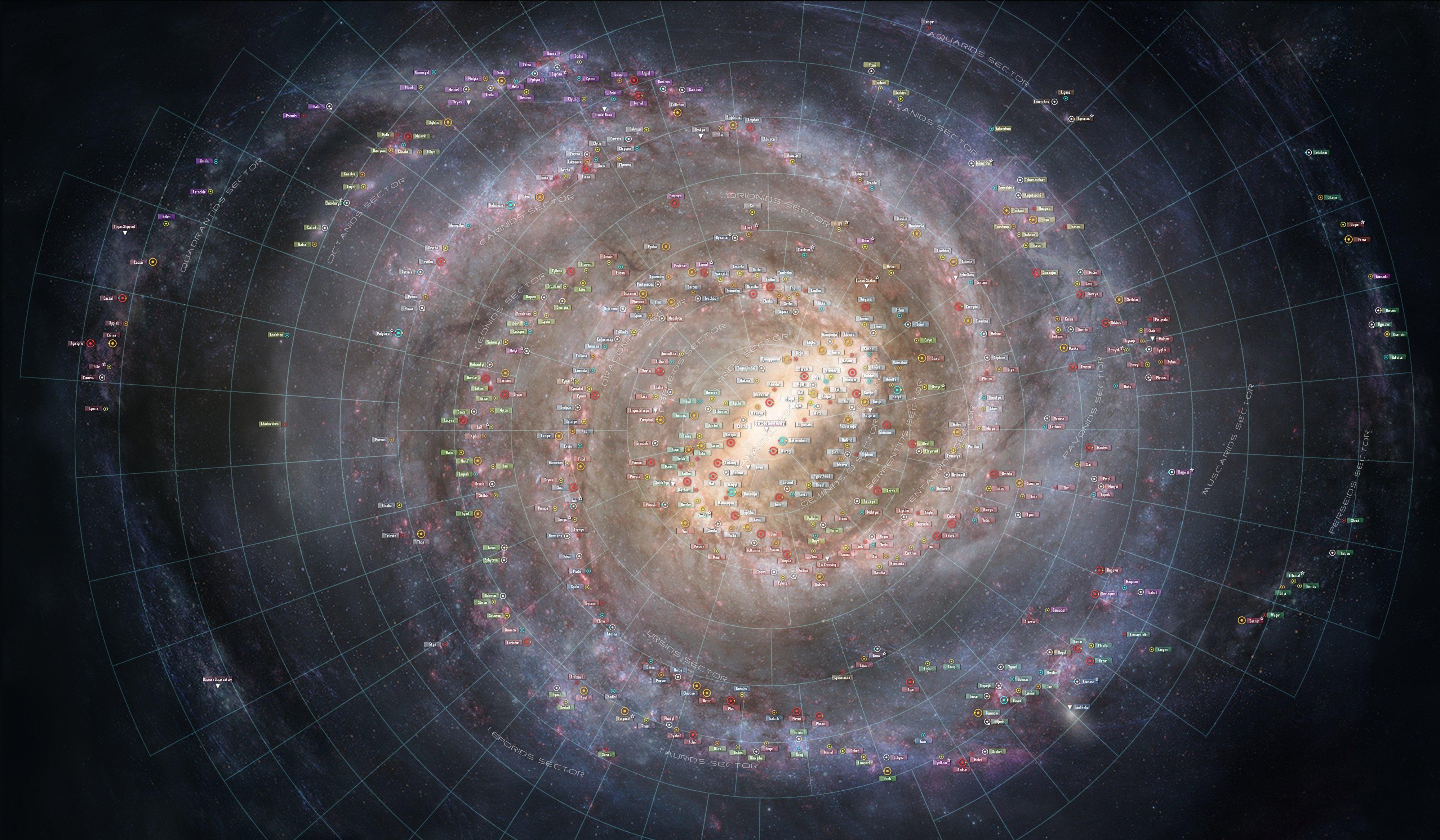 Galaxy gridoff