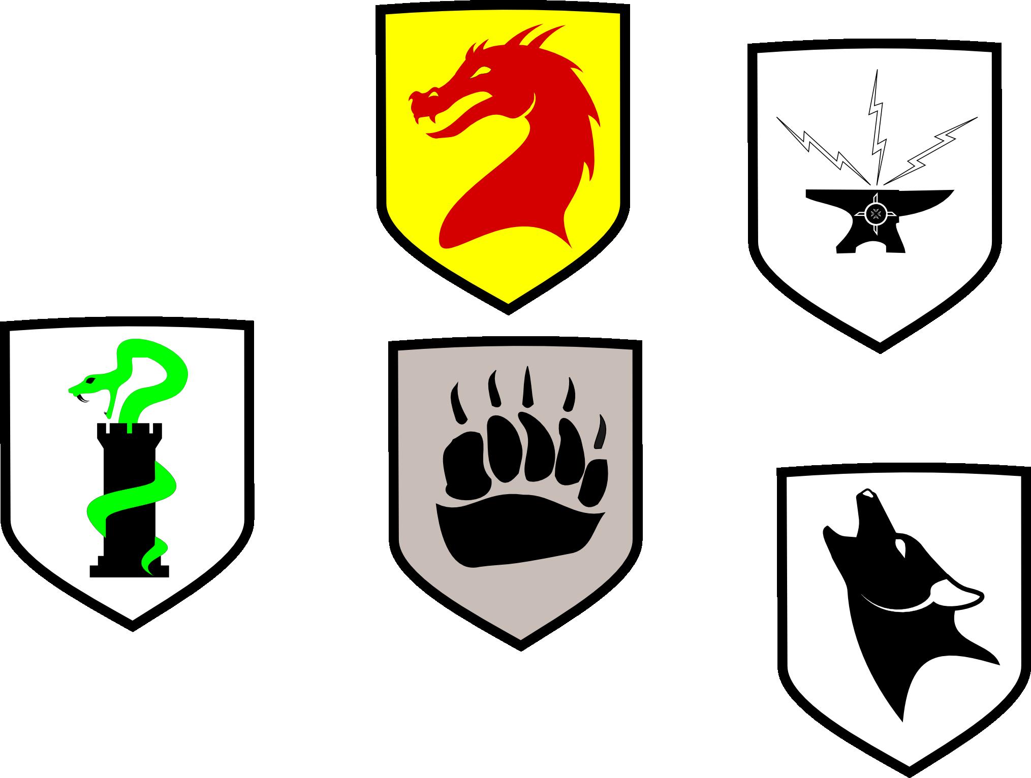 Heraldry Mockups