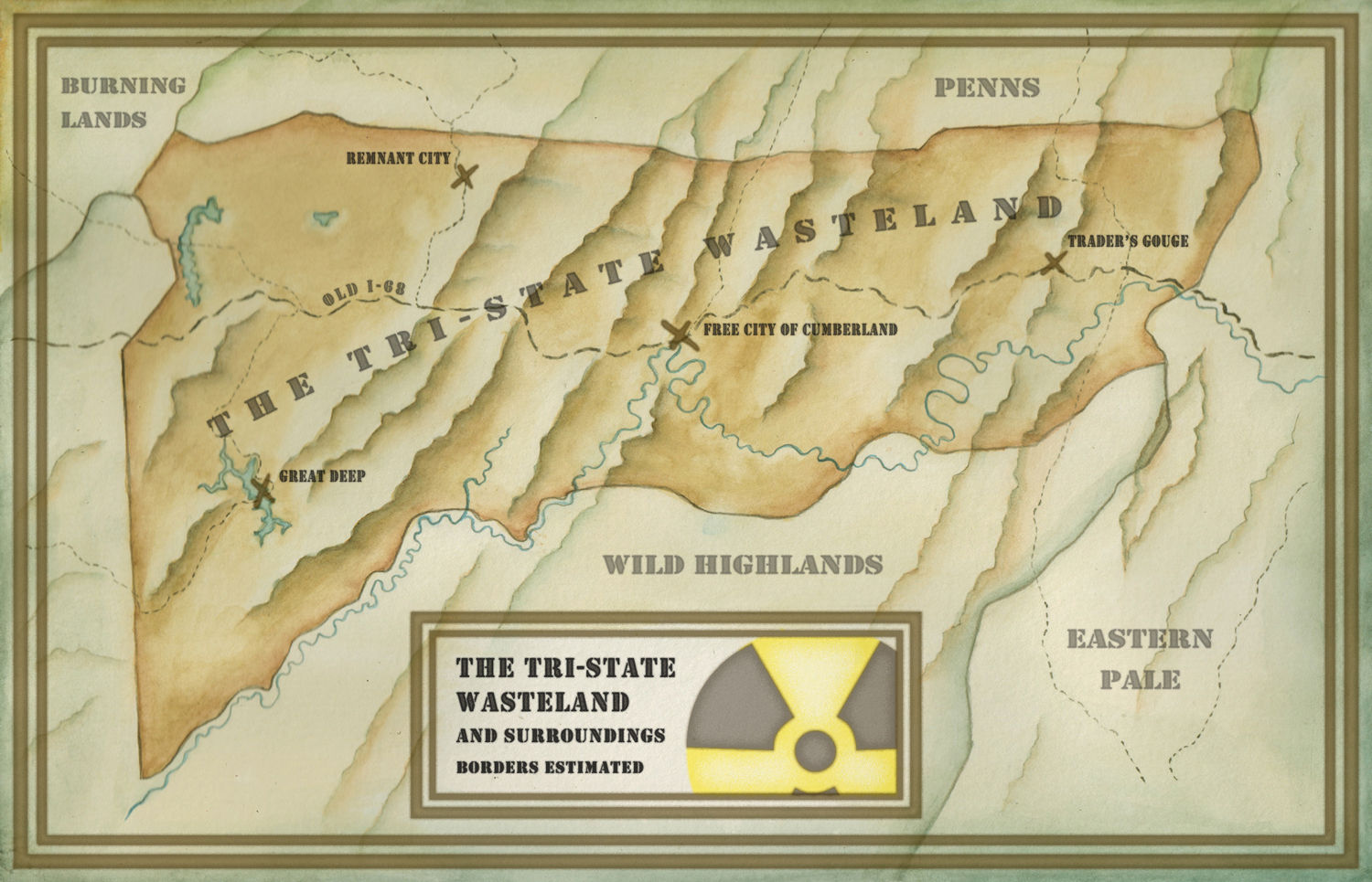 This Is Not A Test � The Tri-State Wasteland