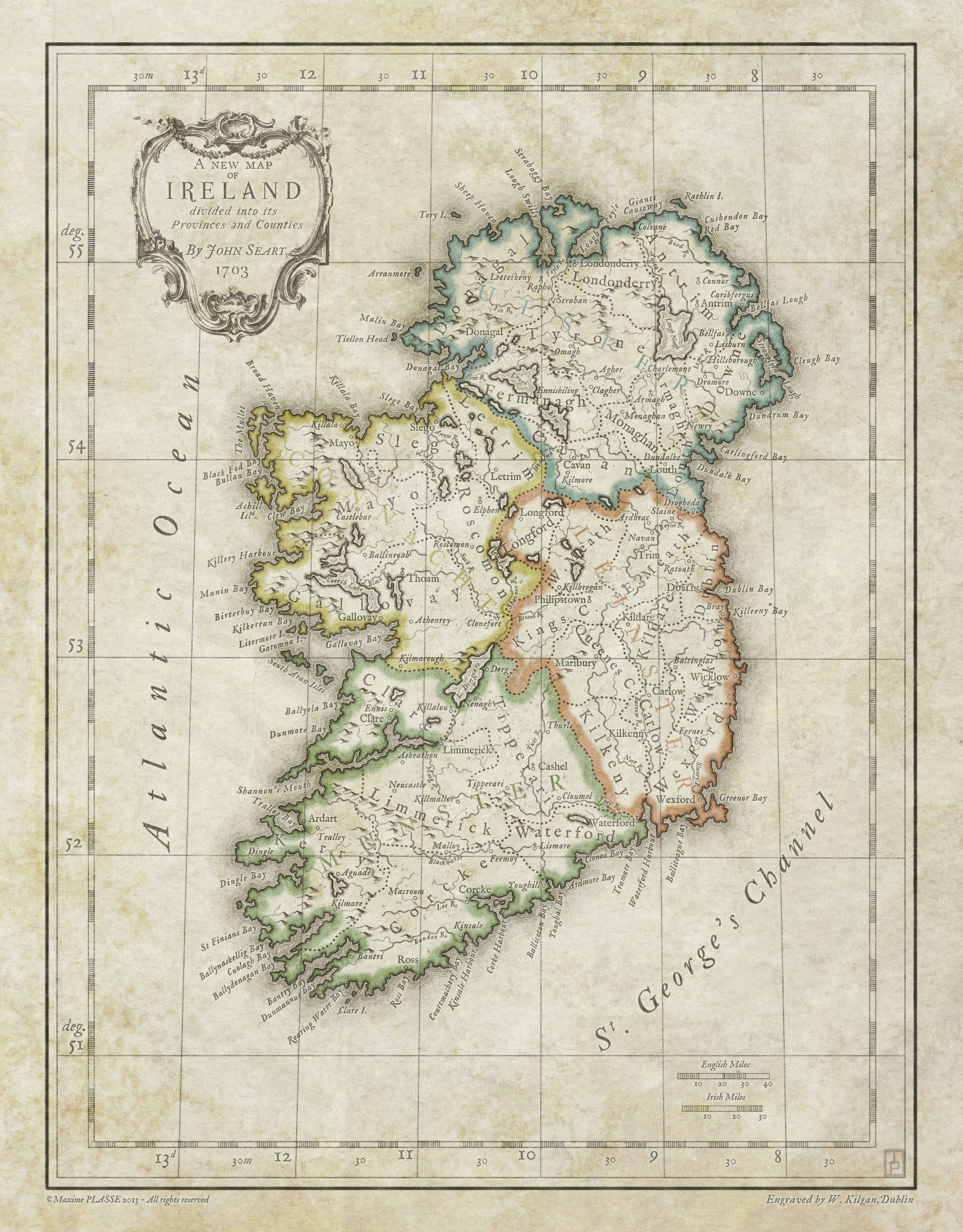 Ireland 1703. 