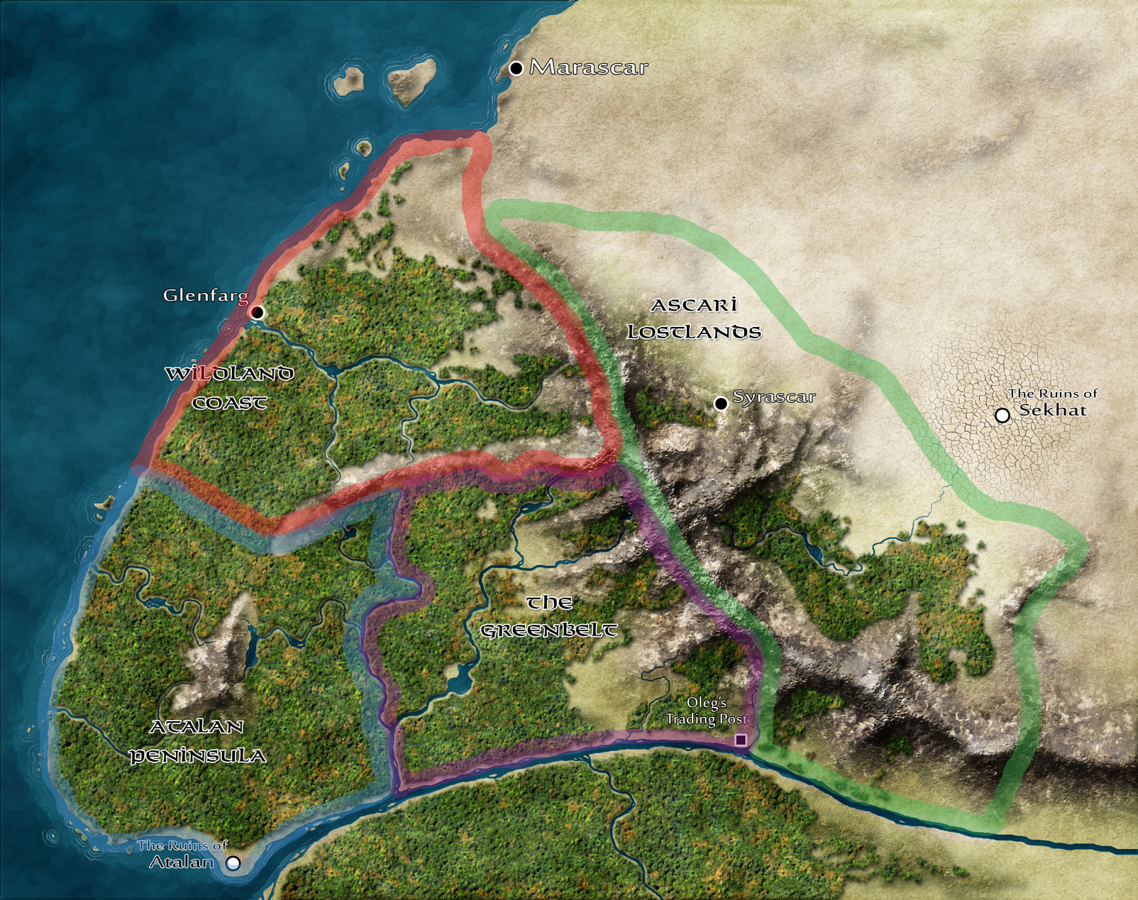Kingmaker Campaign Map Charters
