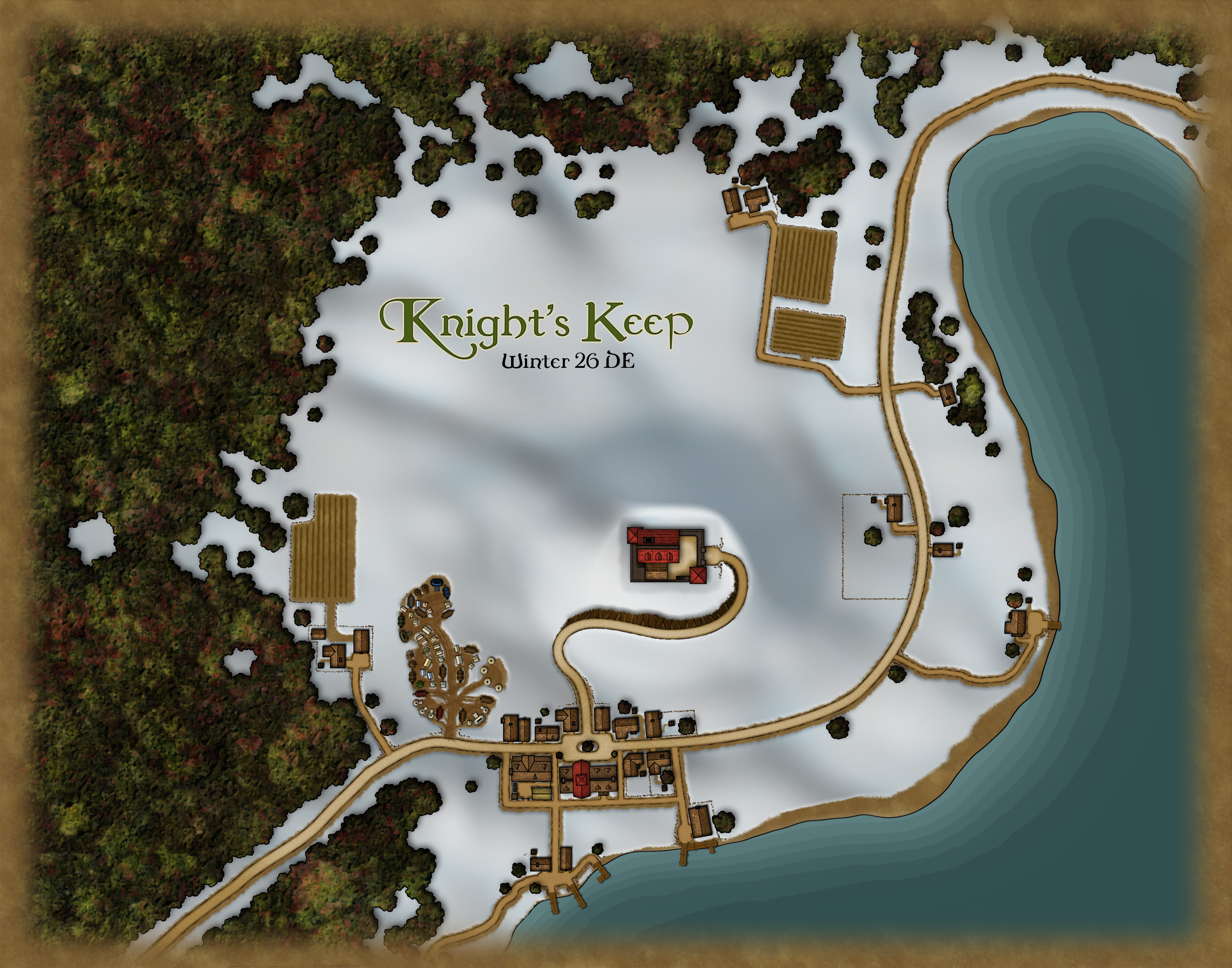 Knights Keep Winter 26 DE