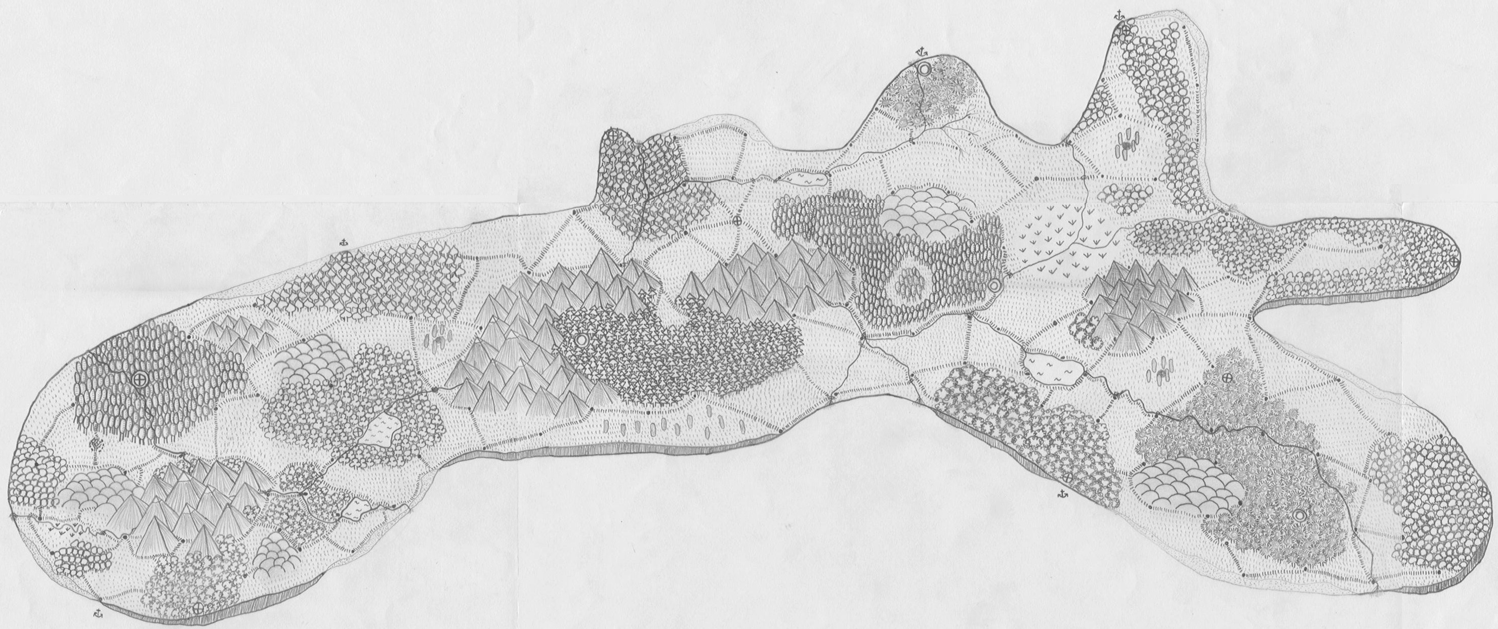 The druids island