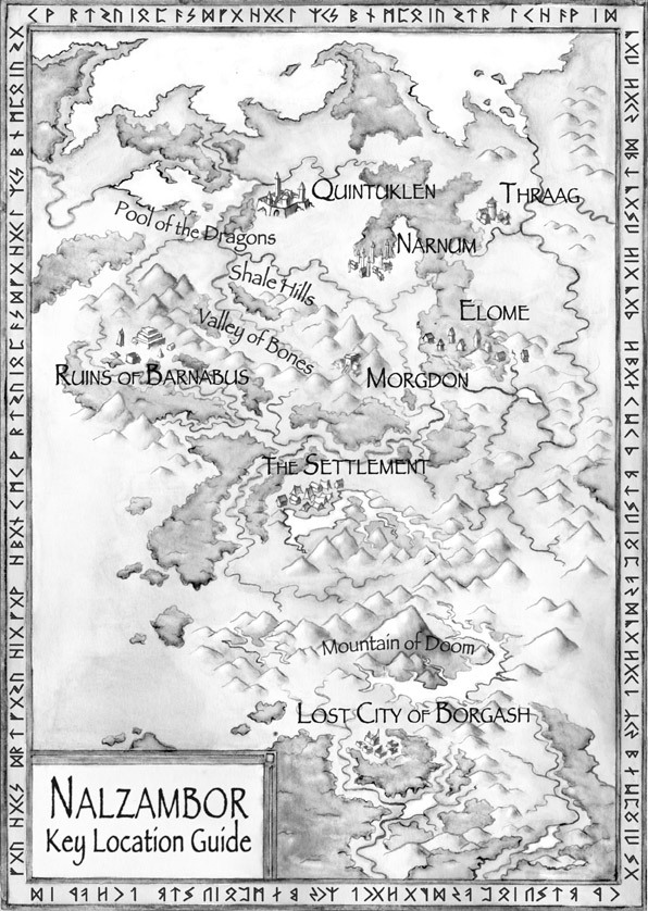 Nalzambor (black and white)
