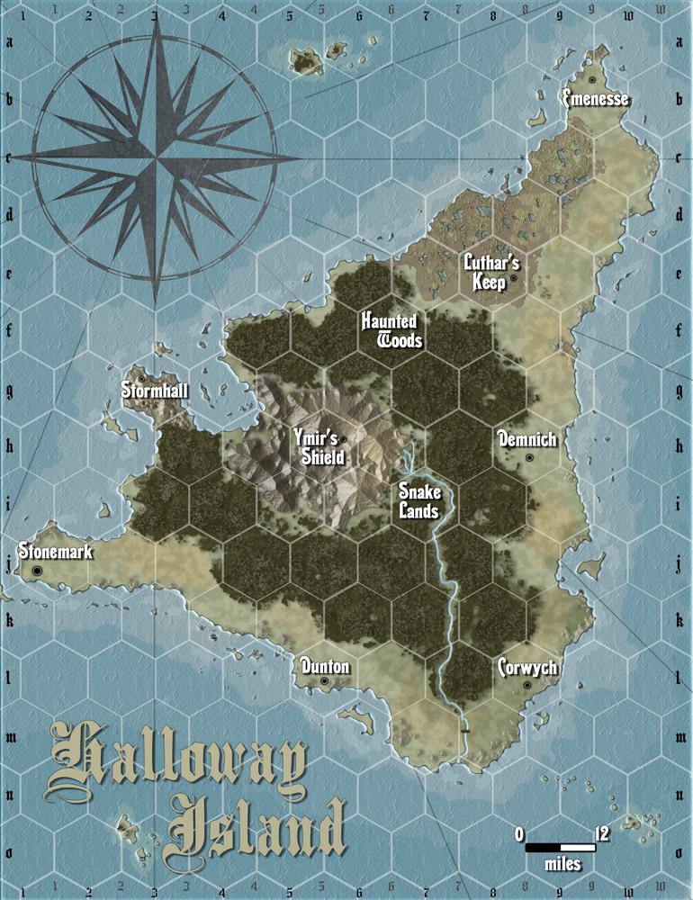 Halloway island