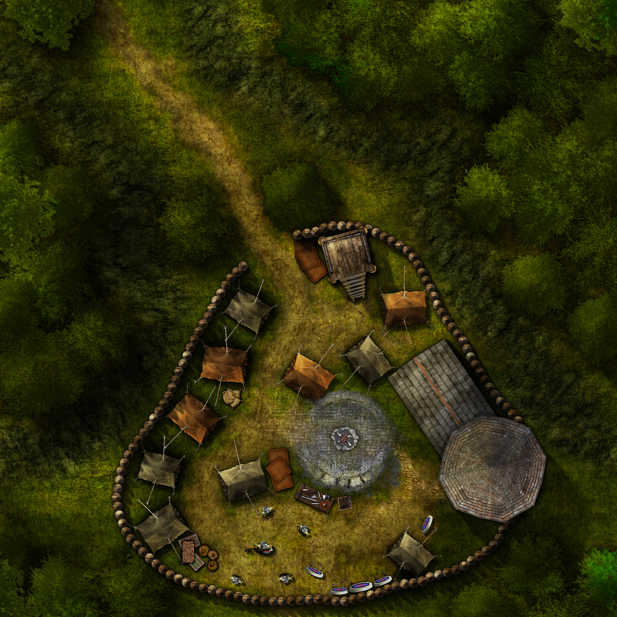 Iron Tower Mercenary Camp