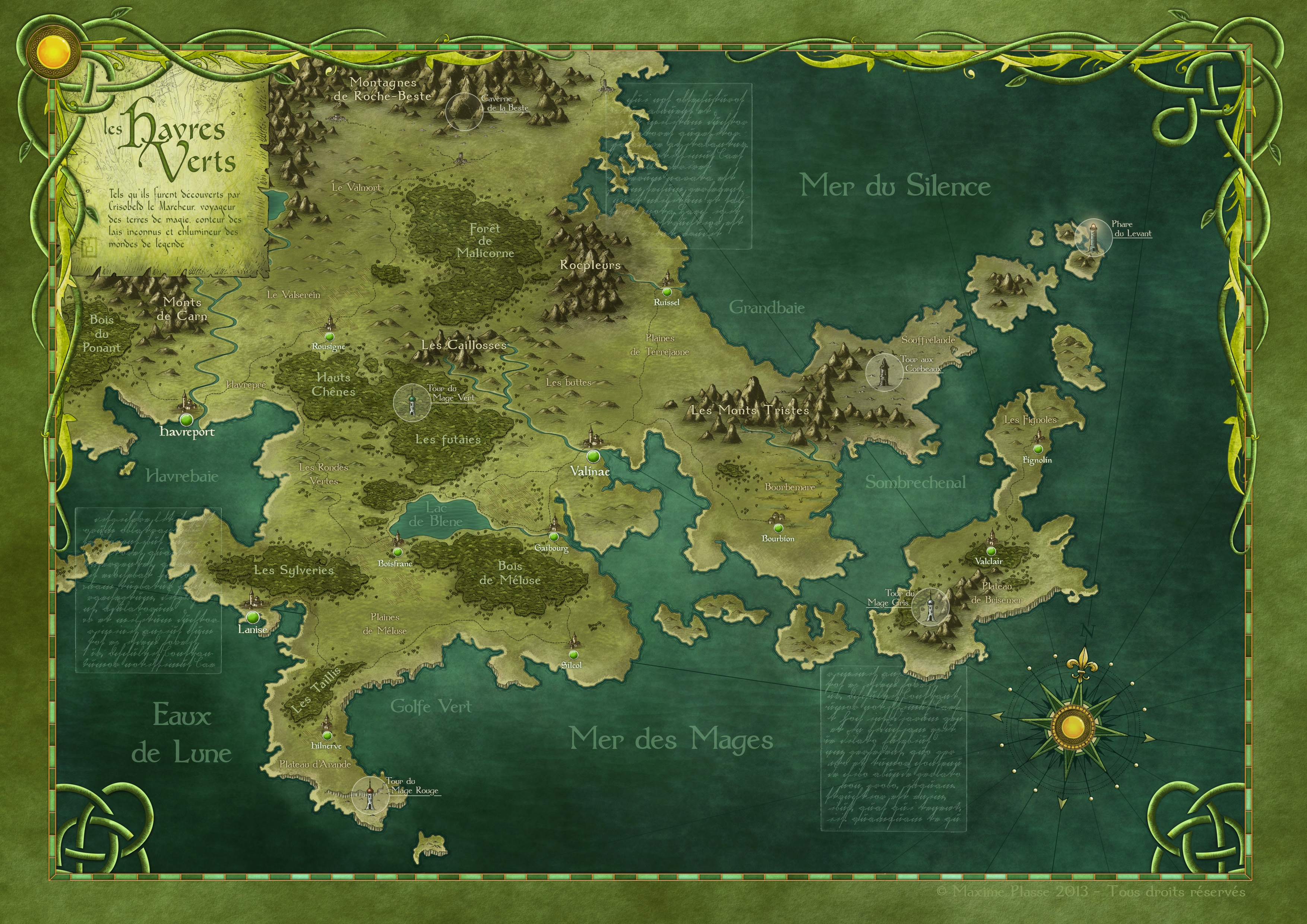 The Green Havens - Tales book project Commission.