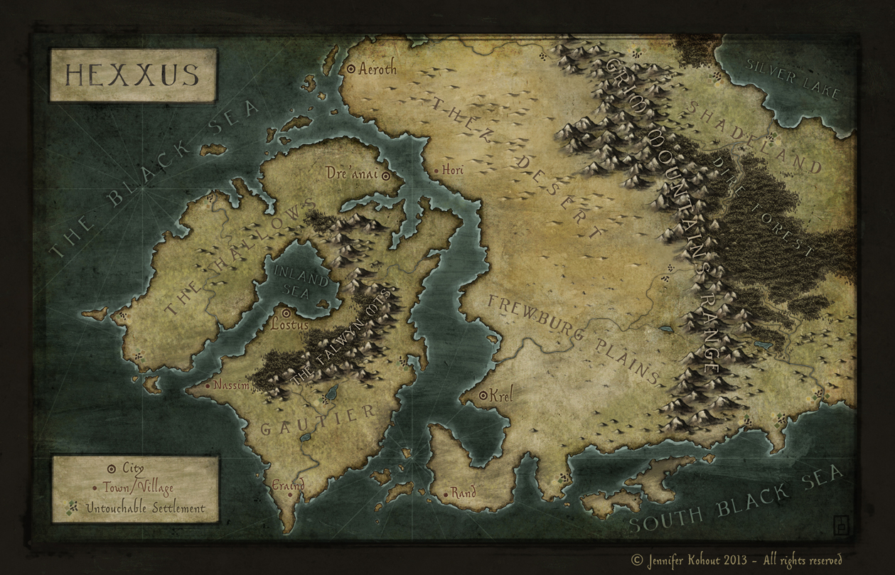 Hexxus , commission for the novel Queen of Souls