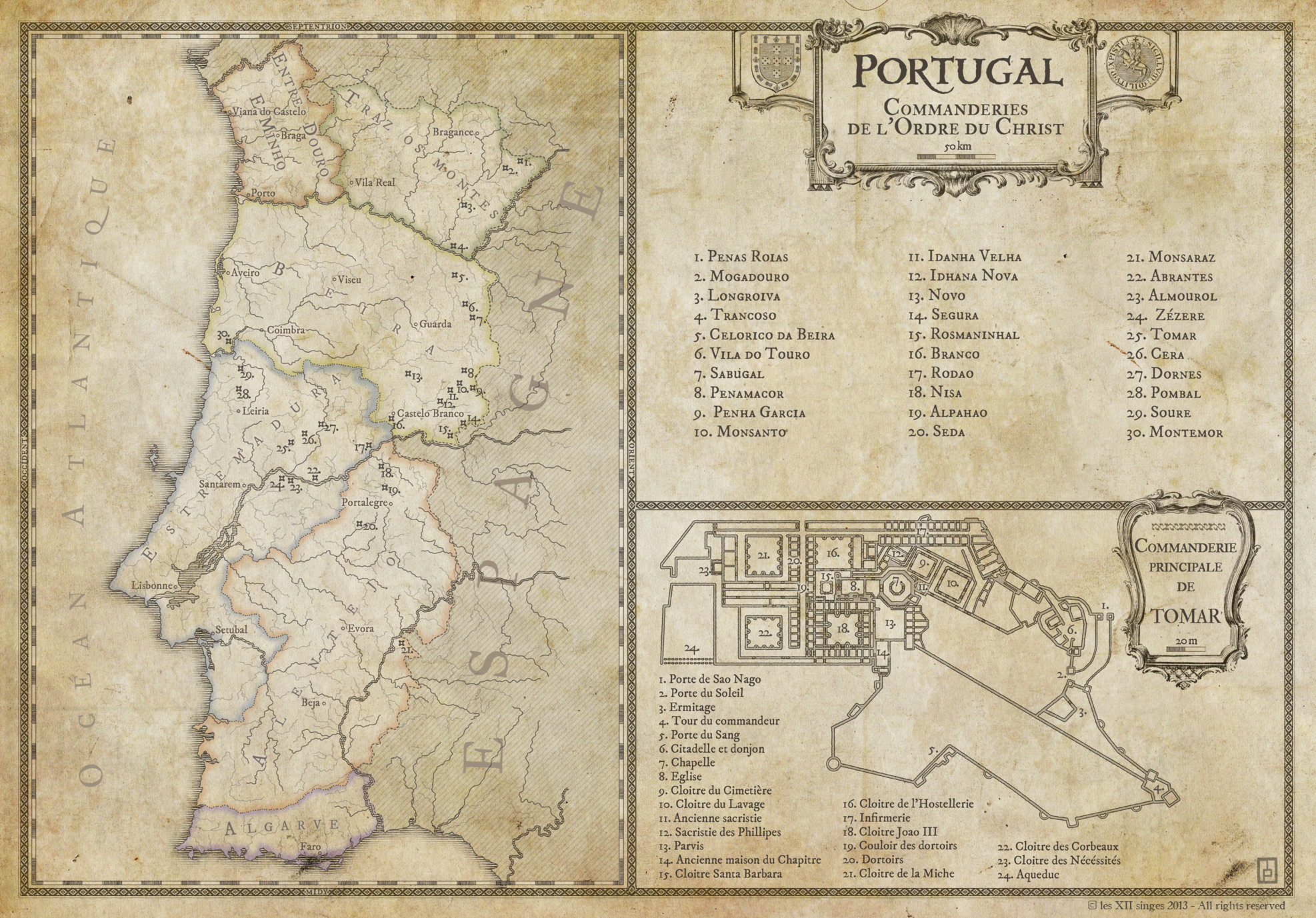 Tenebrae : Portugal. Commission for Tenebrae RPG