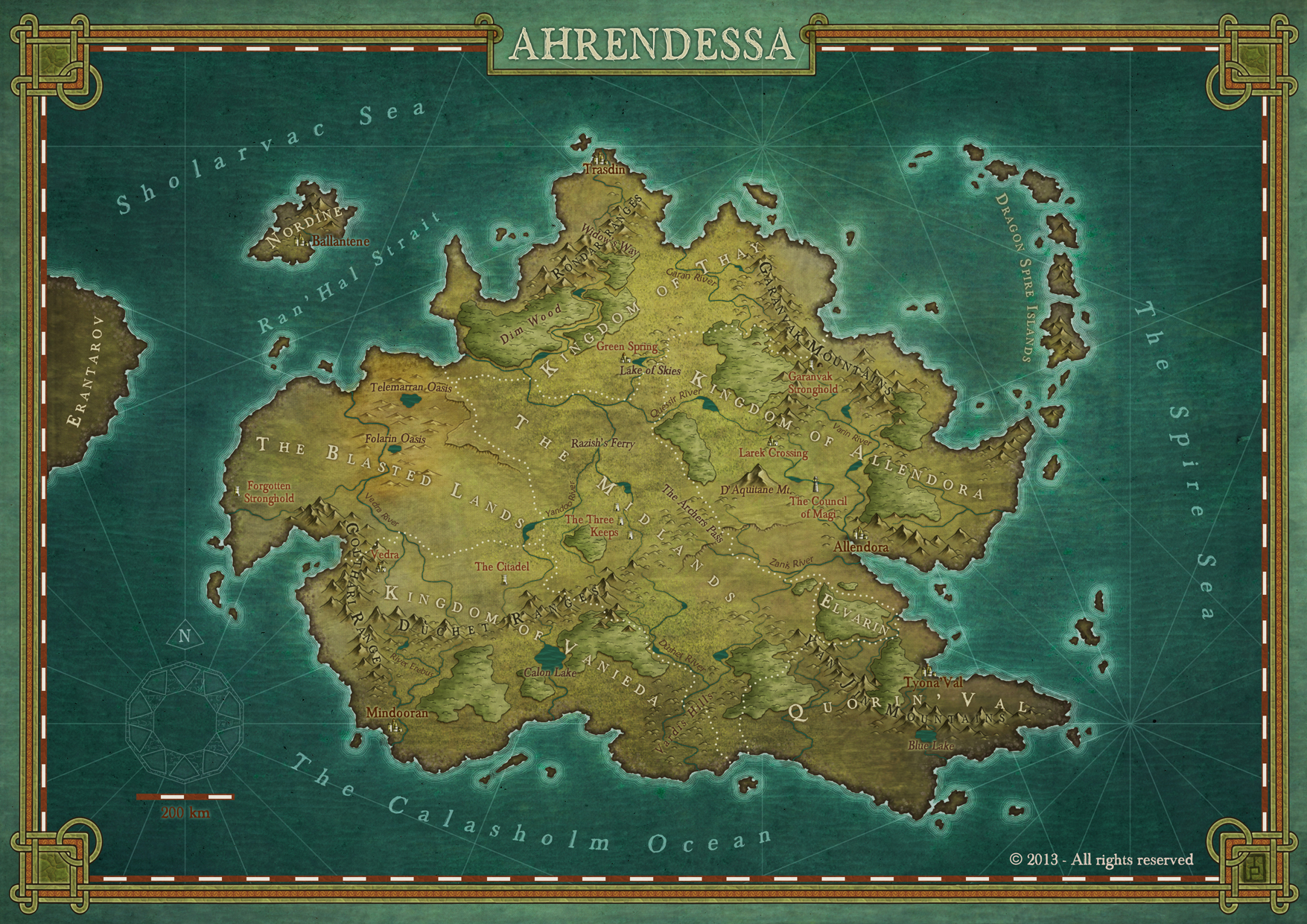Ahrendessa, commission for the upcoming novel Destiny's Child
