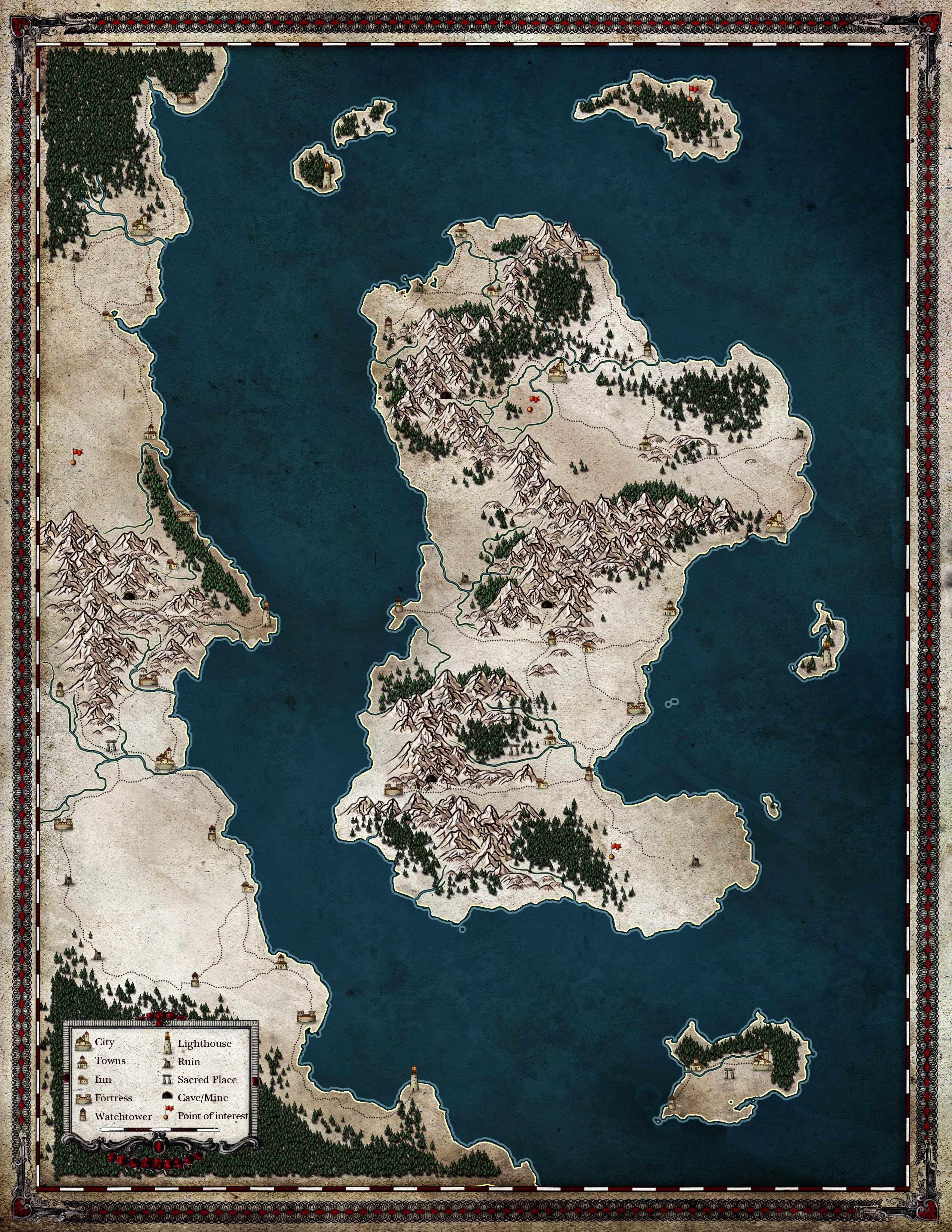 Map of Legends Stormcoast