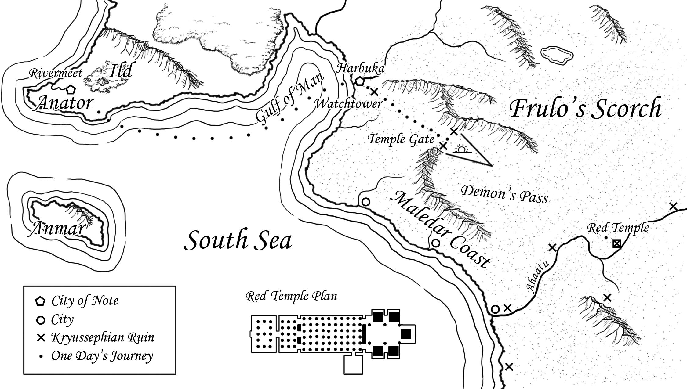 Frulo's Scorch and the South Sea