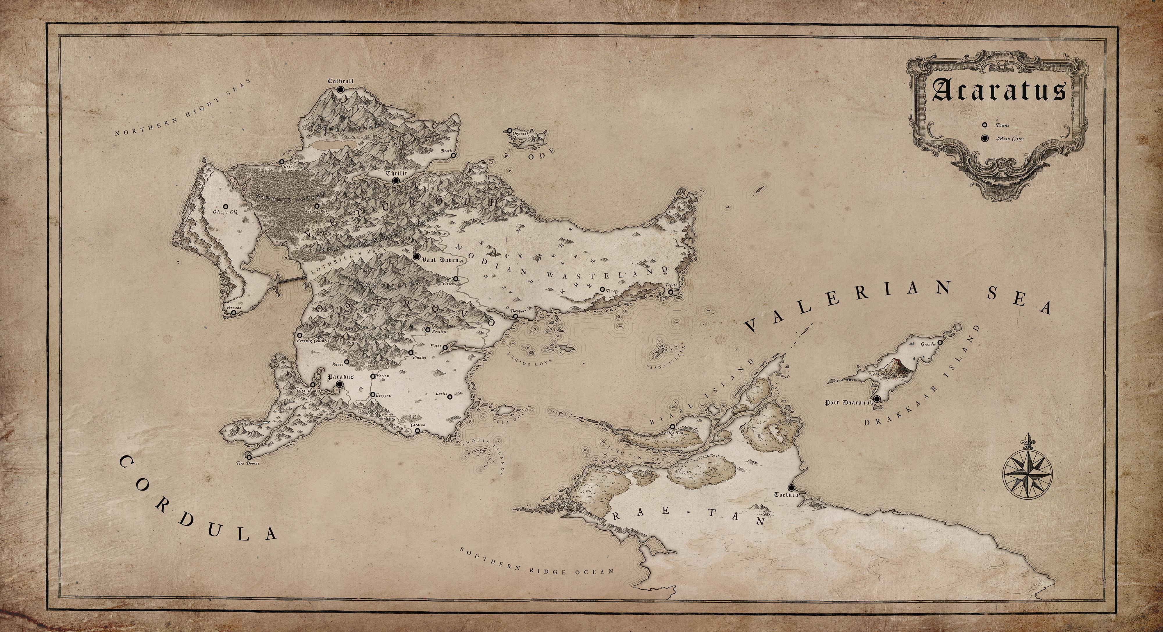 ACARATUS Gamemap