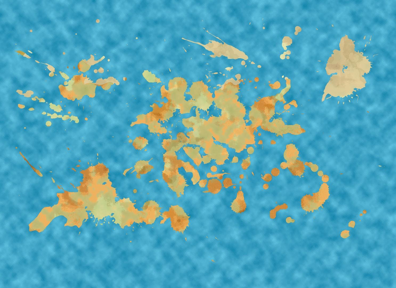 World Map LG004 (Large)