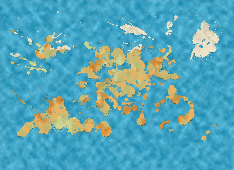 World Map LG005 (Large)
