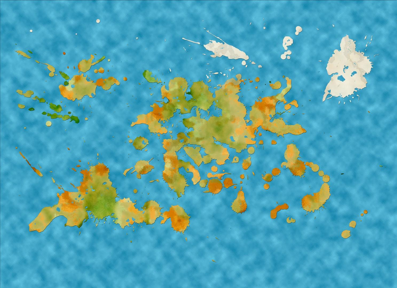 World Map LG009 (Large)